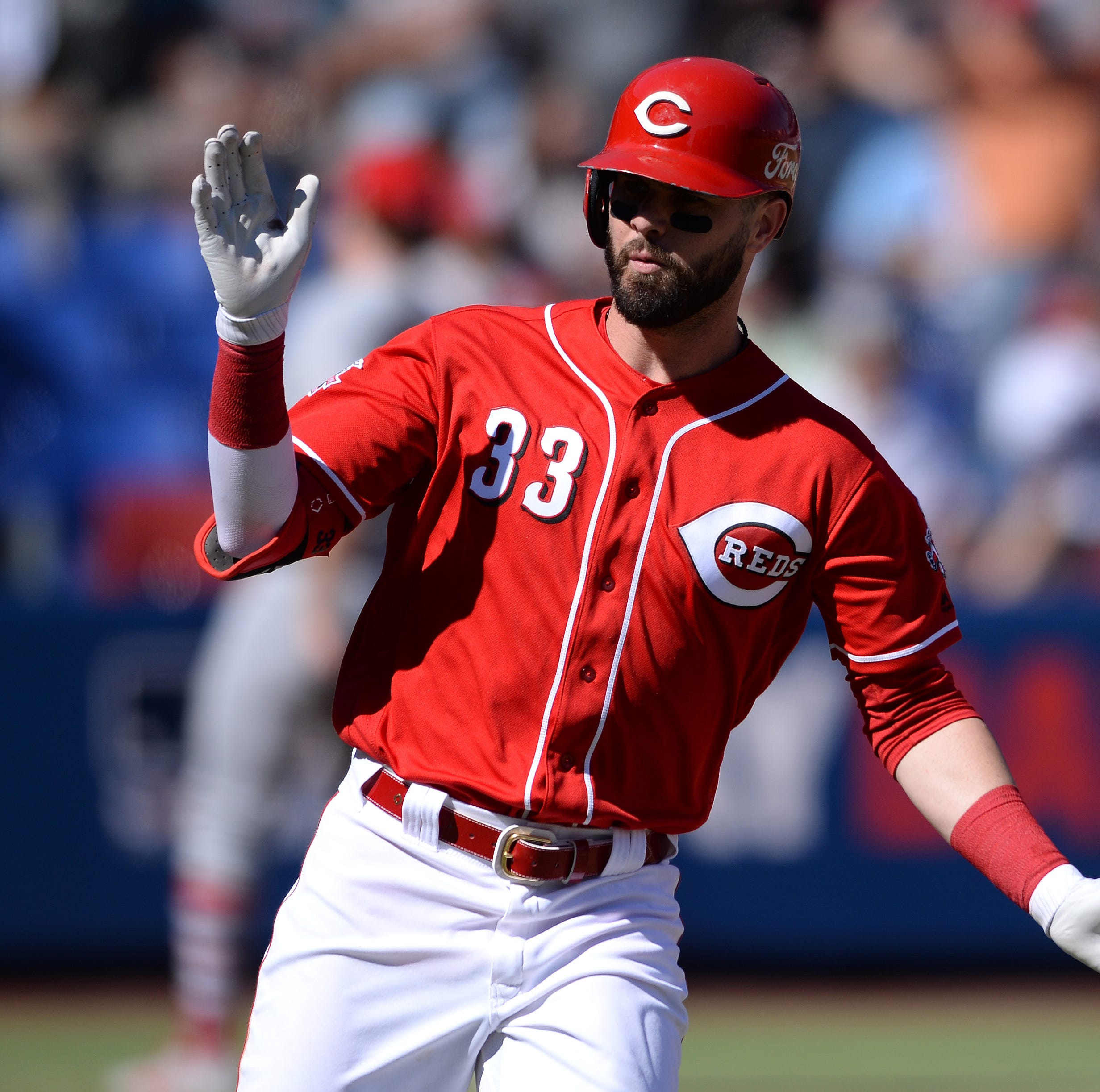 Joey Votto thinks Jesse Winker can be one of the best hitters in the National League