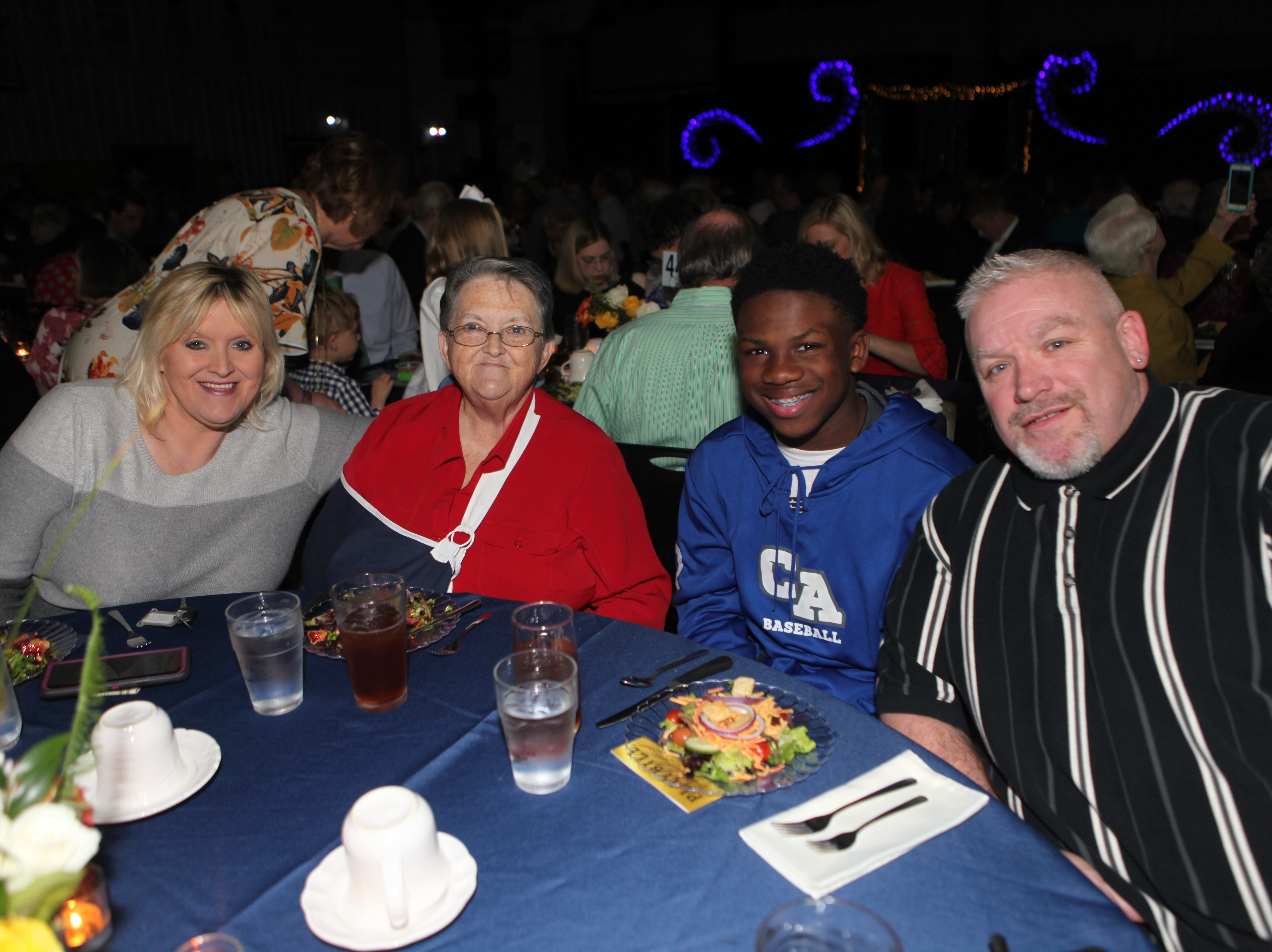 Clarksville Academy hosted its 30th Annual Steak Dinner on Saturday, April 13, 2019, with 400 attendees enjoying great food, and entertainment from CA's student choirs