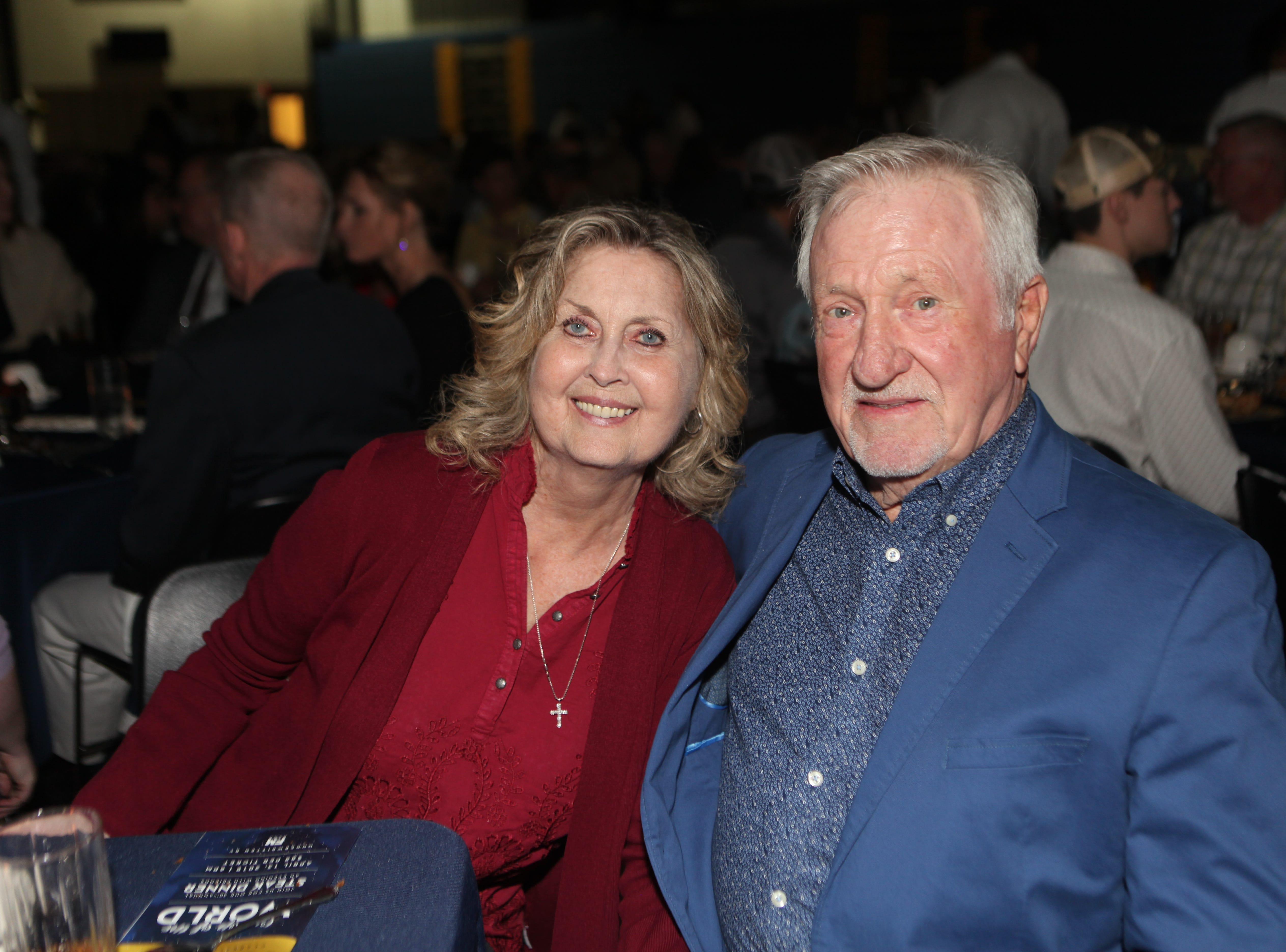 Judy and Bobby Black at Clarksville Academy's Steak Dinner on Saturday, April 13, 2019.
