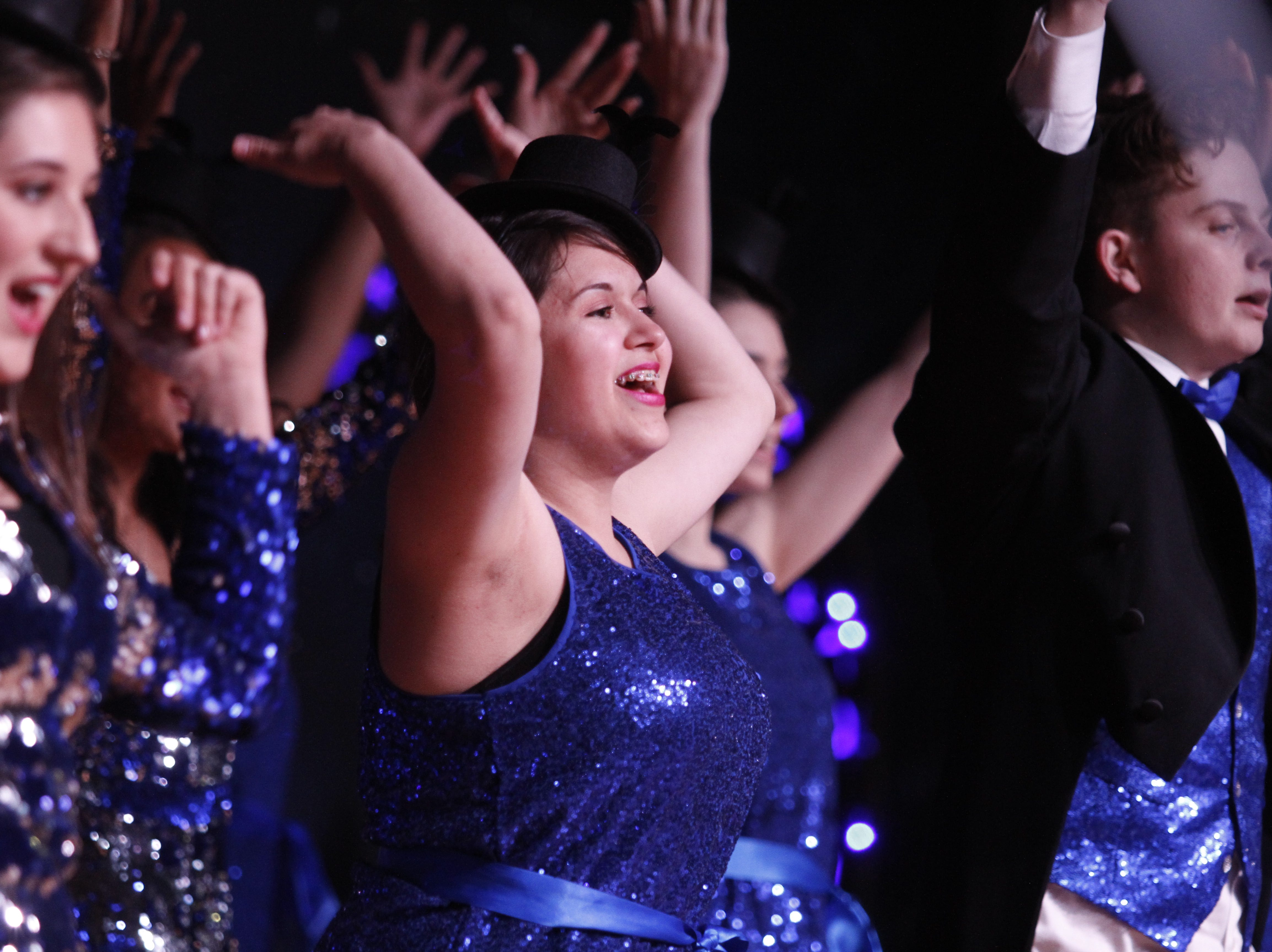 The CA Show Choir performs at Clarksville Academy's Steak Dinner on Saturday, April 13, 2019.day, April 13, 2019.