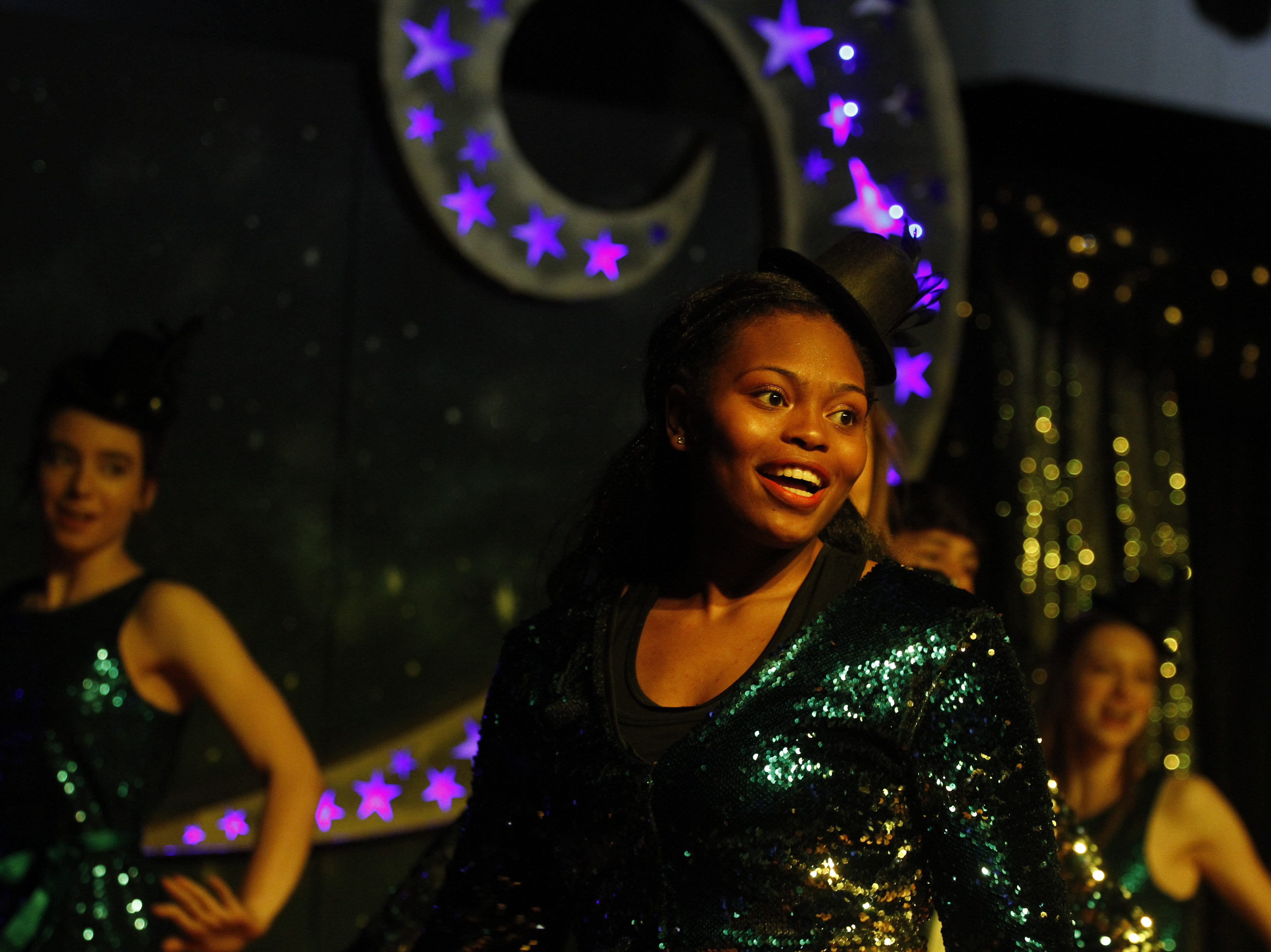 Breonna Wade performing at Clarksville Academy's Steak Dinner on Saturday, April 13, 2019.