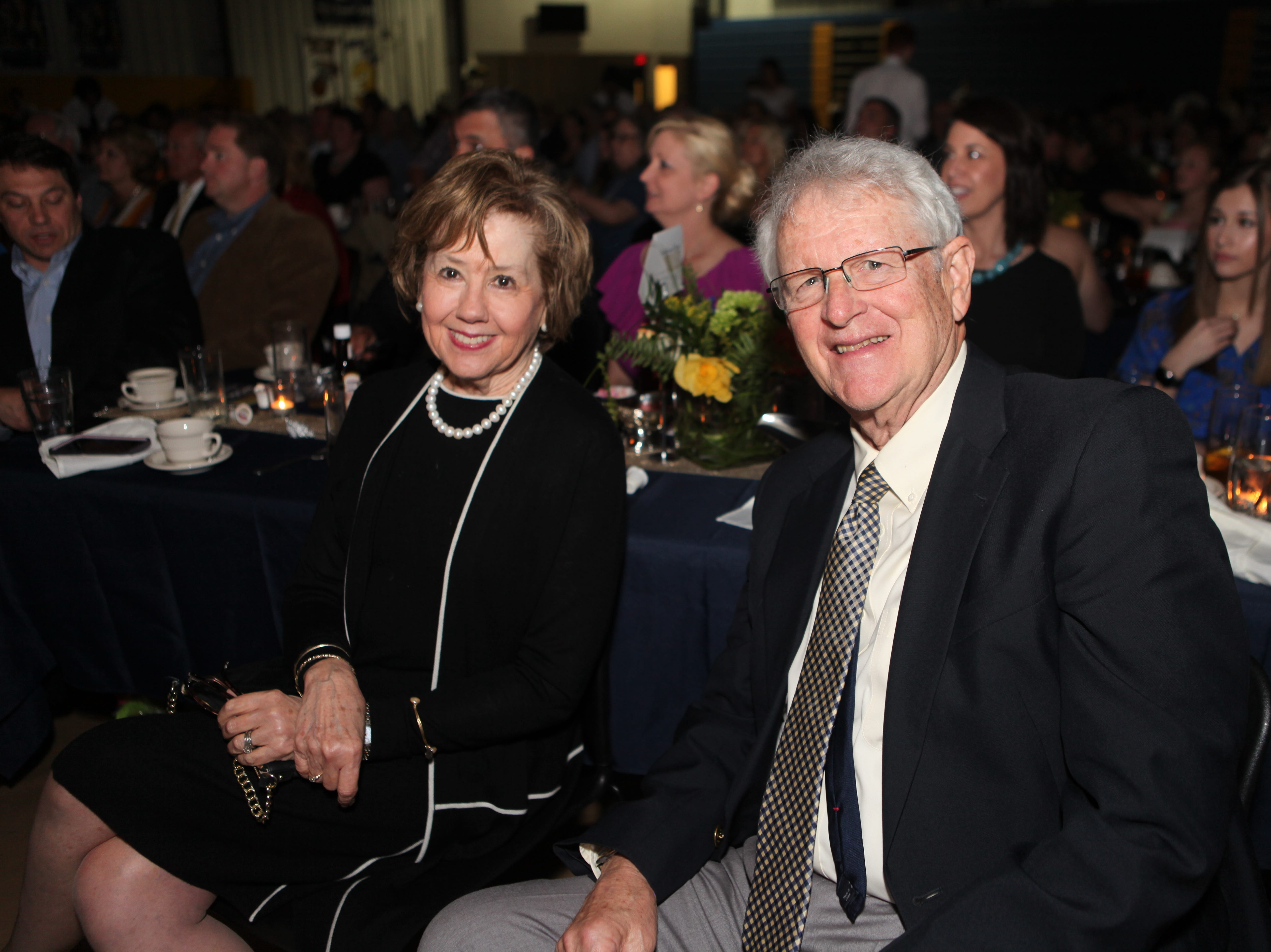 Cornelia and Jack Mitchell at Clarksville Academy's 30th Annual Steak Dinner on Saturday, April 13, 2019.