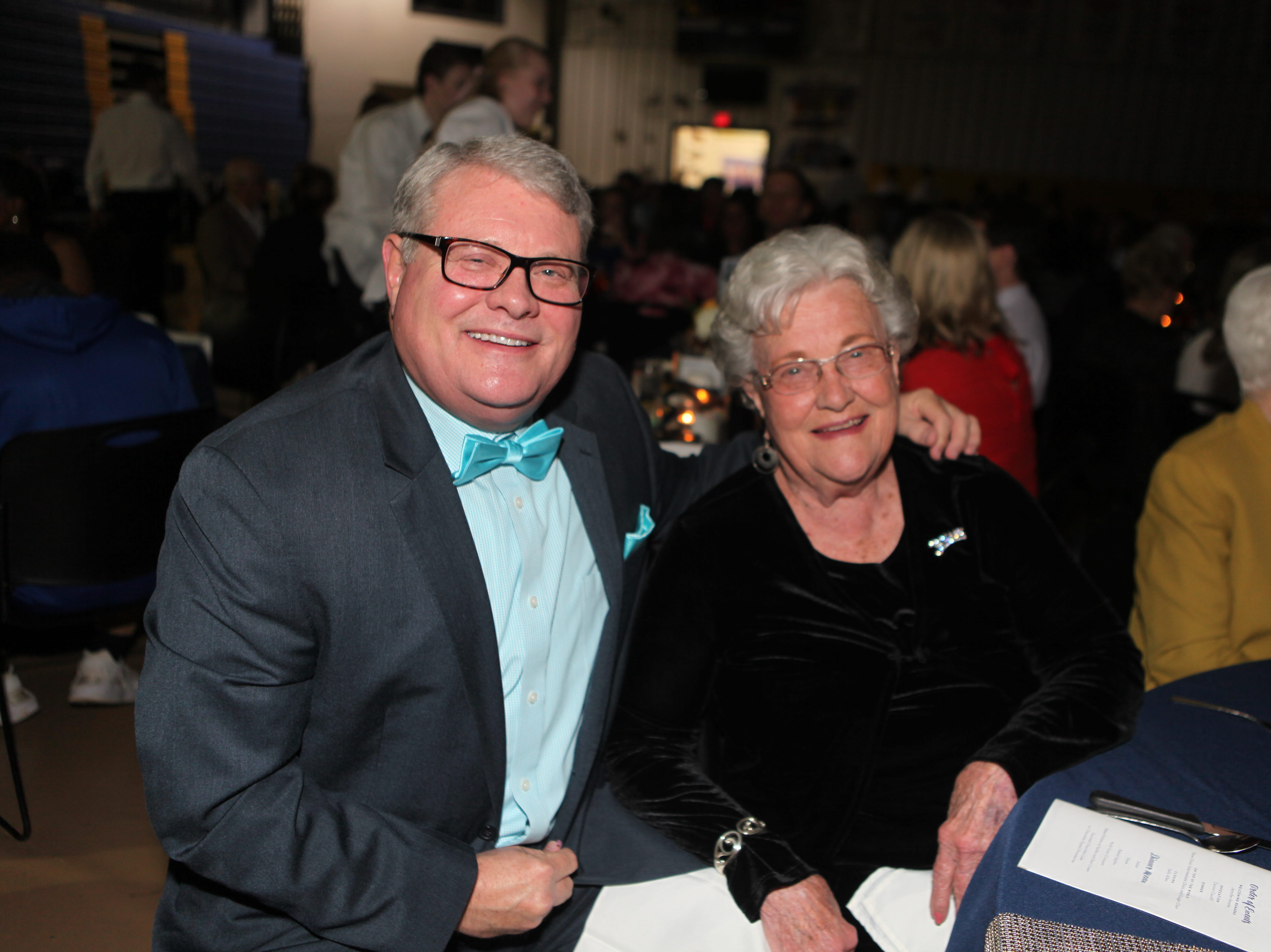 Wally and Wanda Burchett at Clarksville Academy's Steak Dinner on Saturday, April 13, 2019.