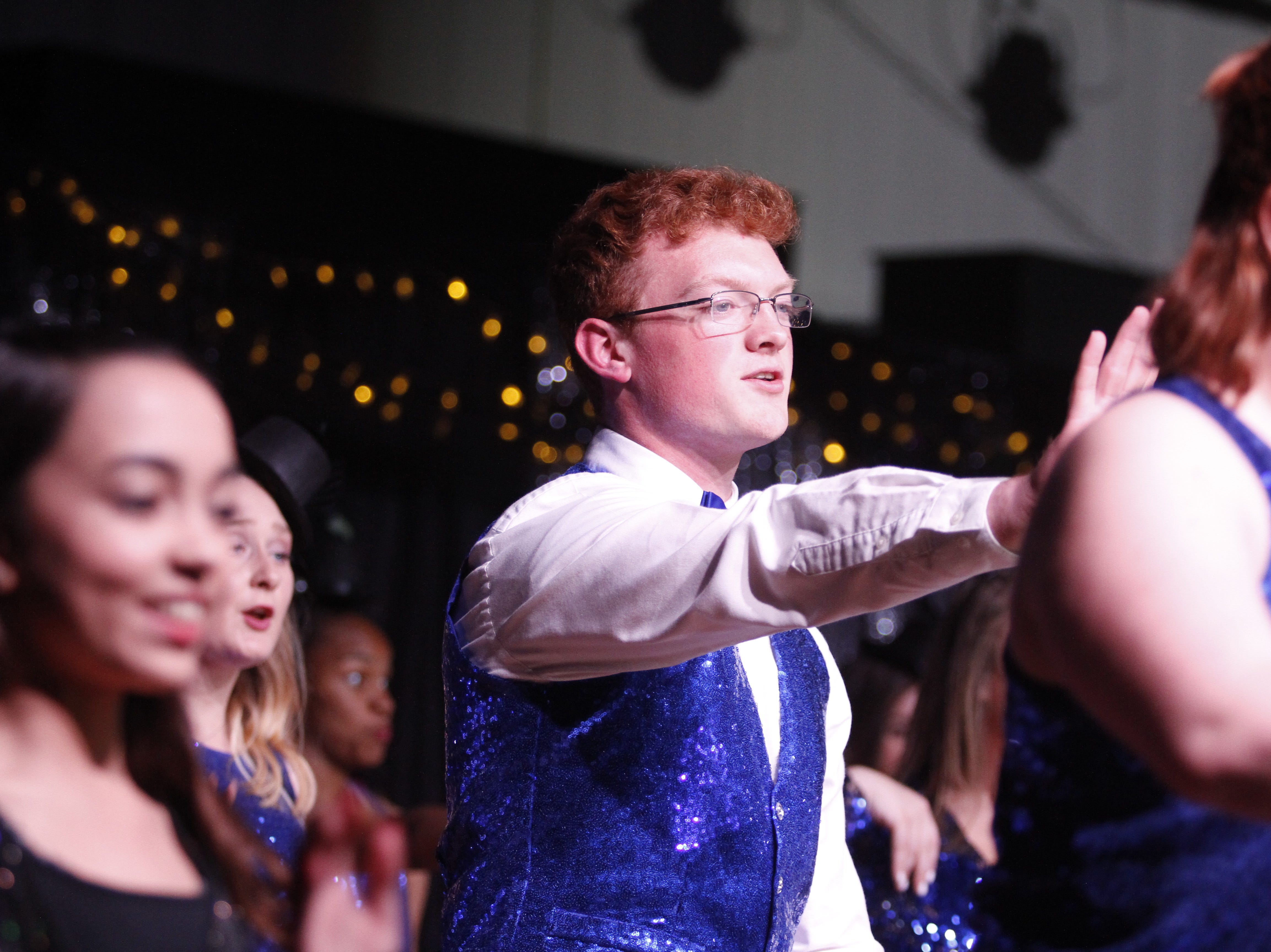 Zach Mullins performing at Clarksville Academy's Steak Dinner on Saturday, April 13, 2019.