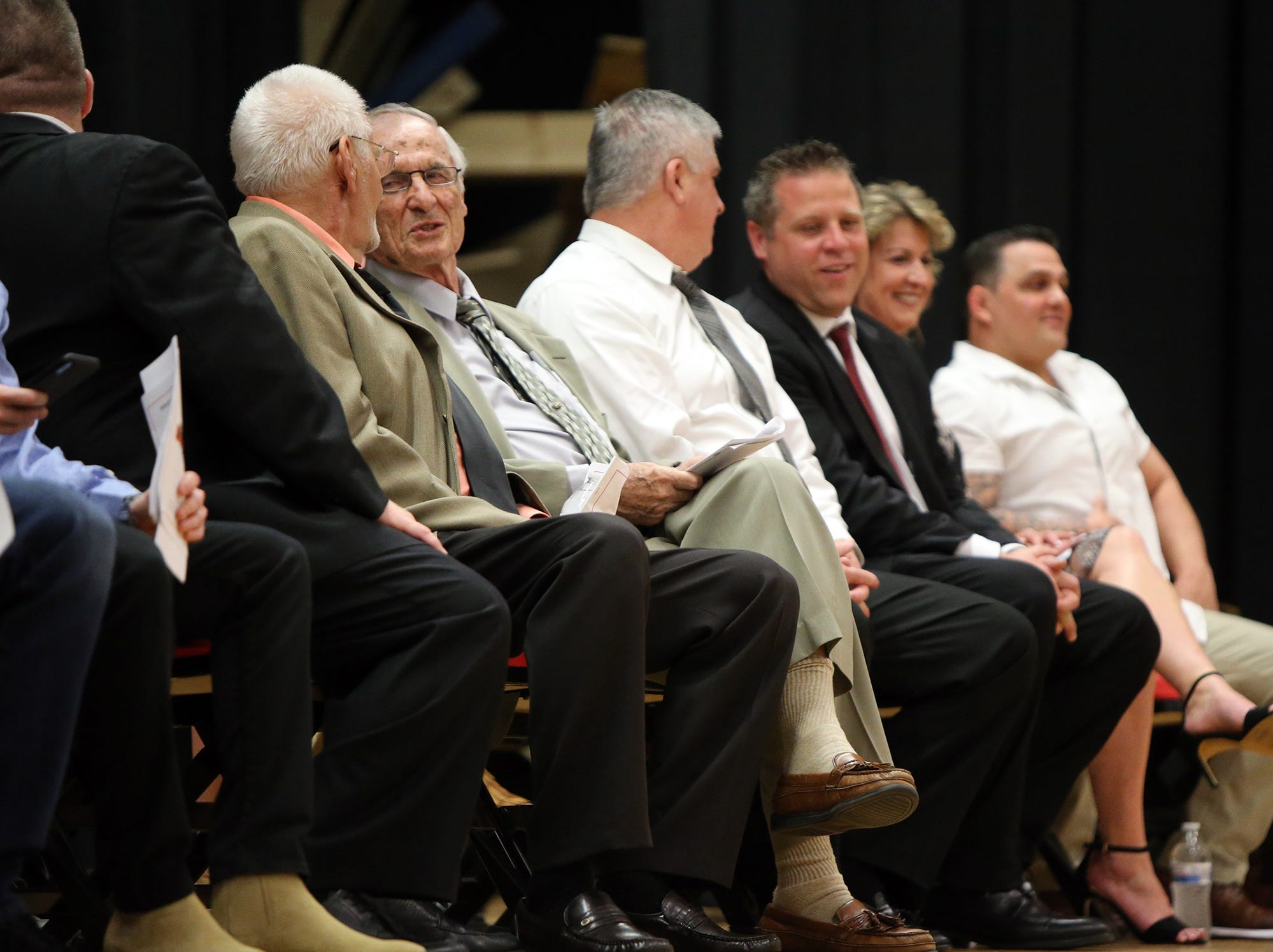 Edison High School Athletic Hall of Fame induction ceremony