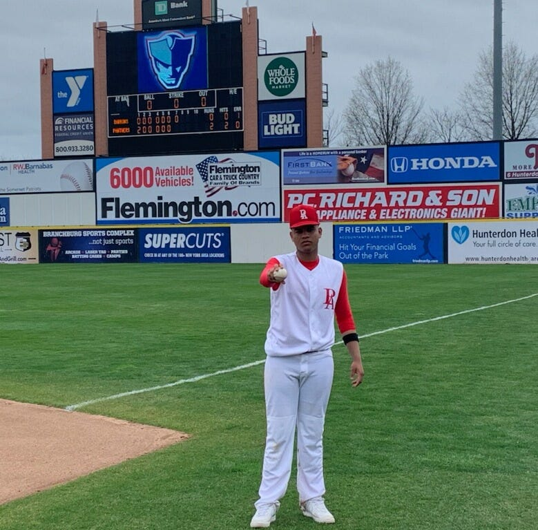 NJ baseball: Perth Amboy's Cabrera throws no-hitter at TD Bank Ballpark