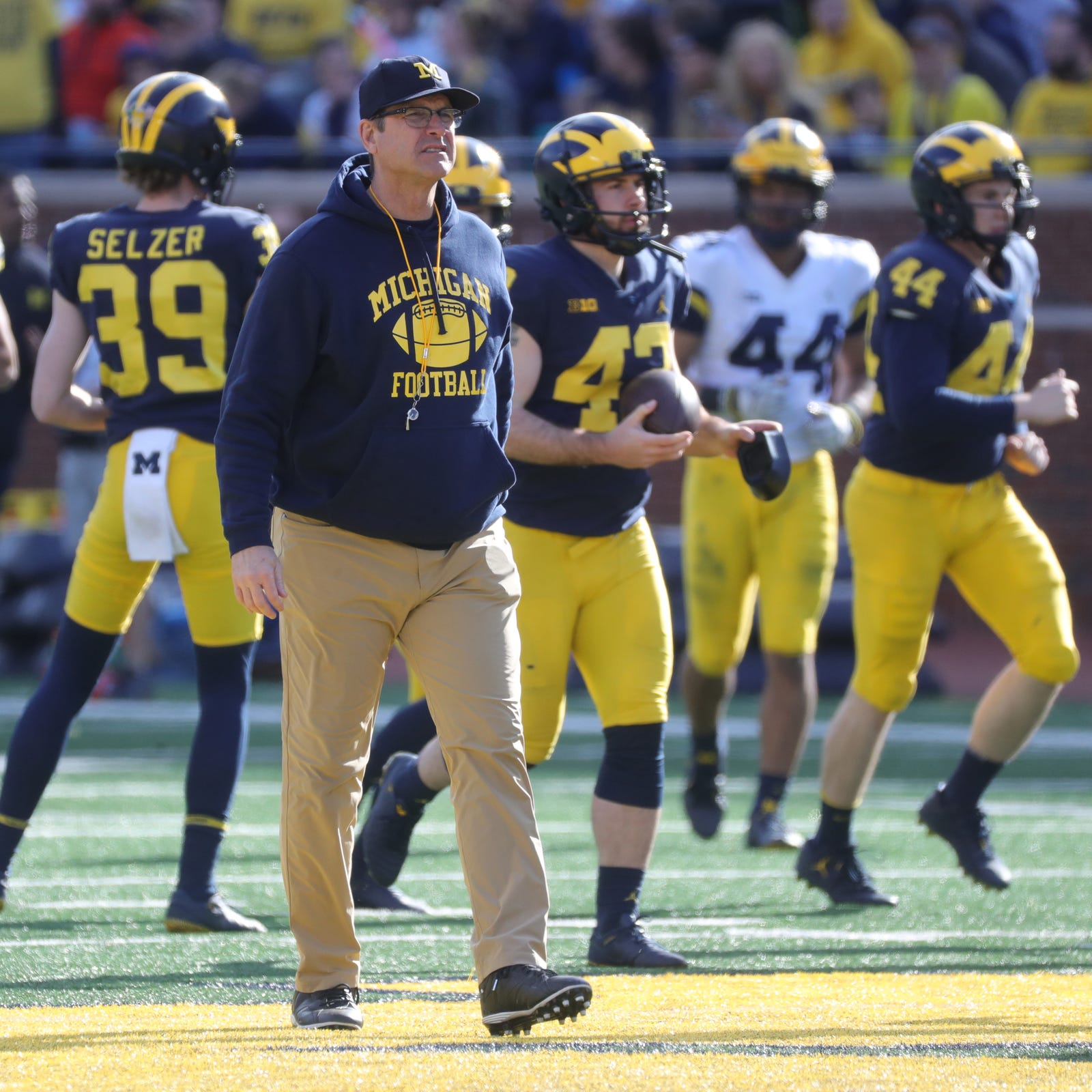 Michigan football picks up 3rd commitment from St. Frances Academy for 2020