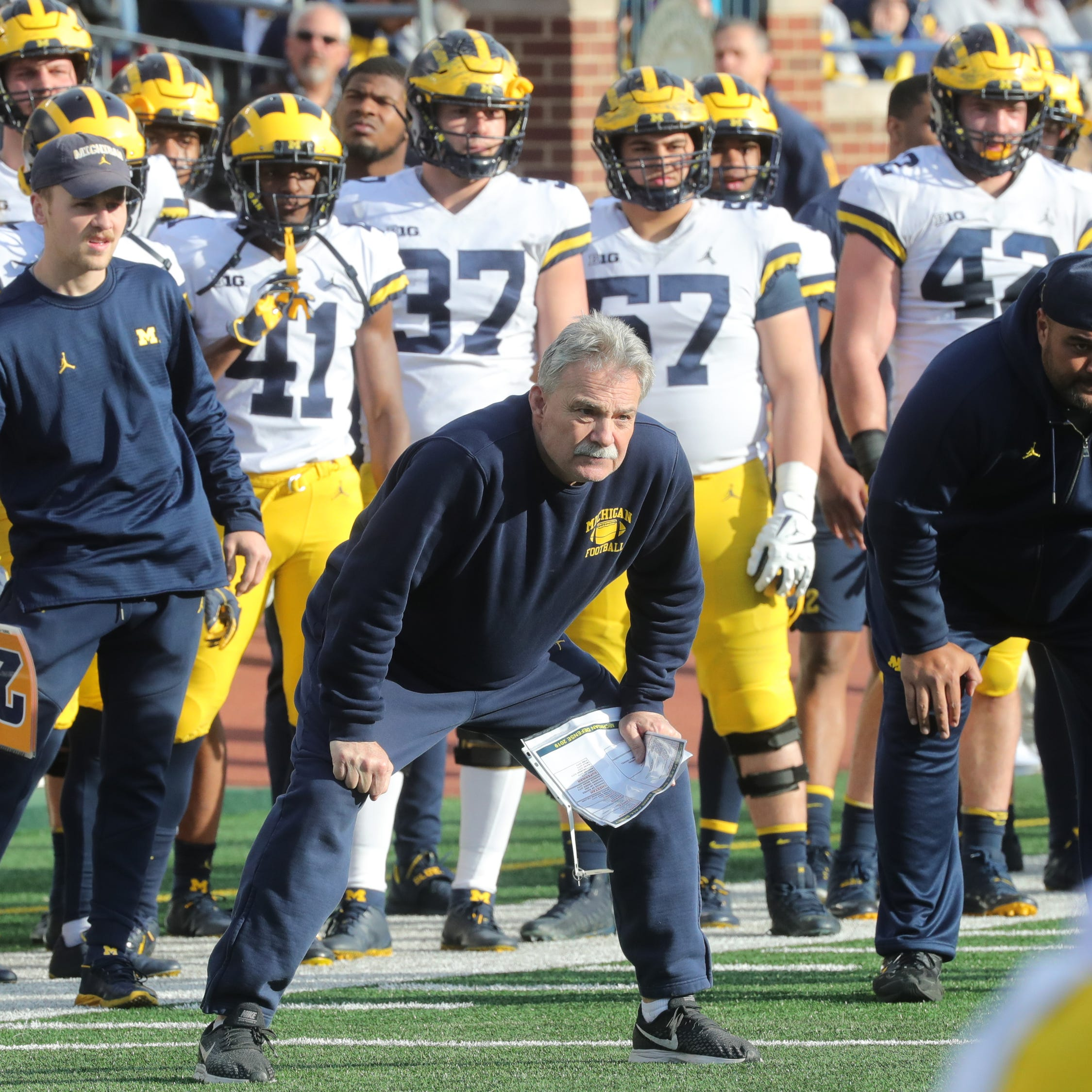 Michigan football's Don Brown sprinkles in zone coverage: 'More is more'