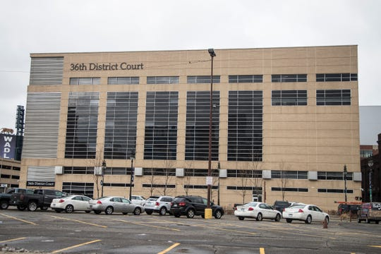 36th District Court in Detroit, Wednesday, February 21, 2018.