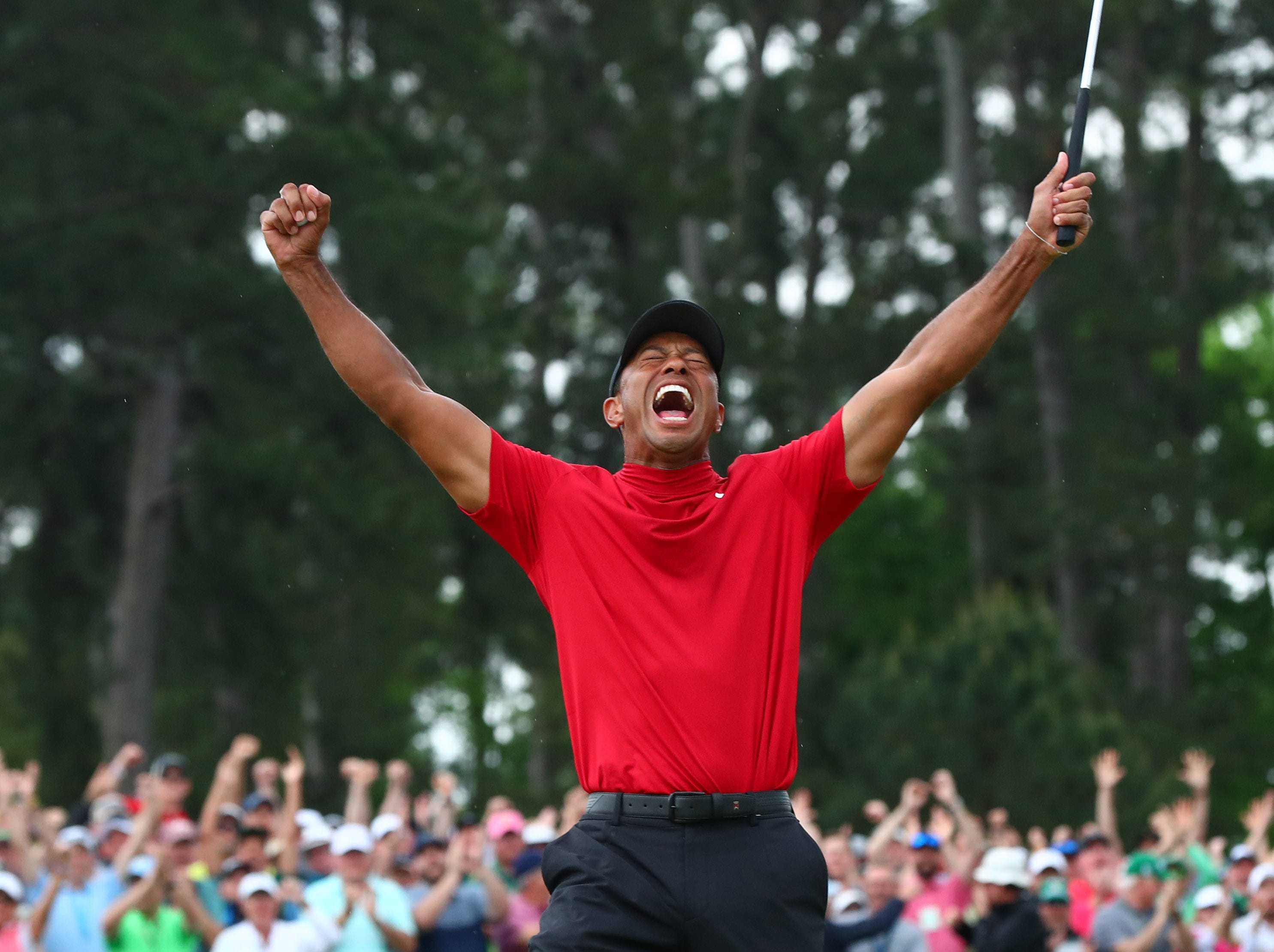 In Mississippi Georgia and Detroit I watched Tiger Woods&apos victory bring