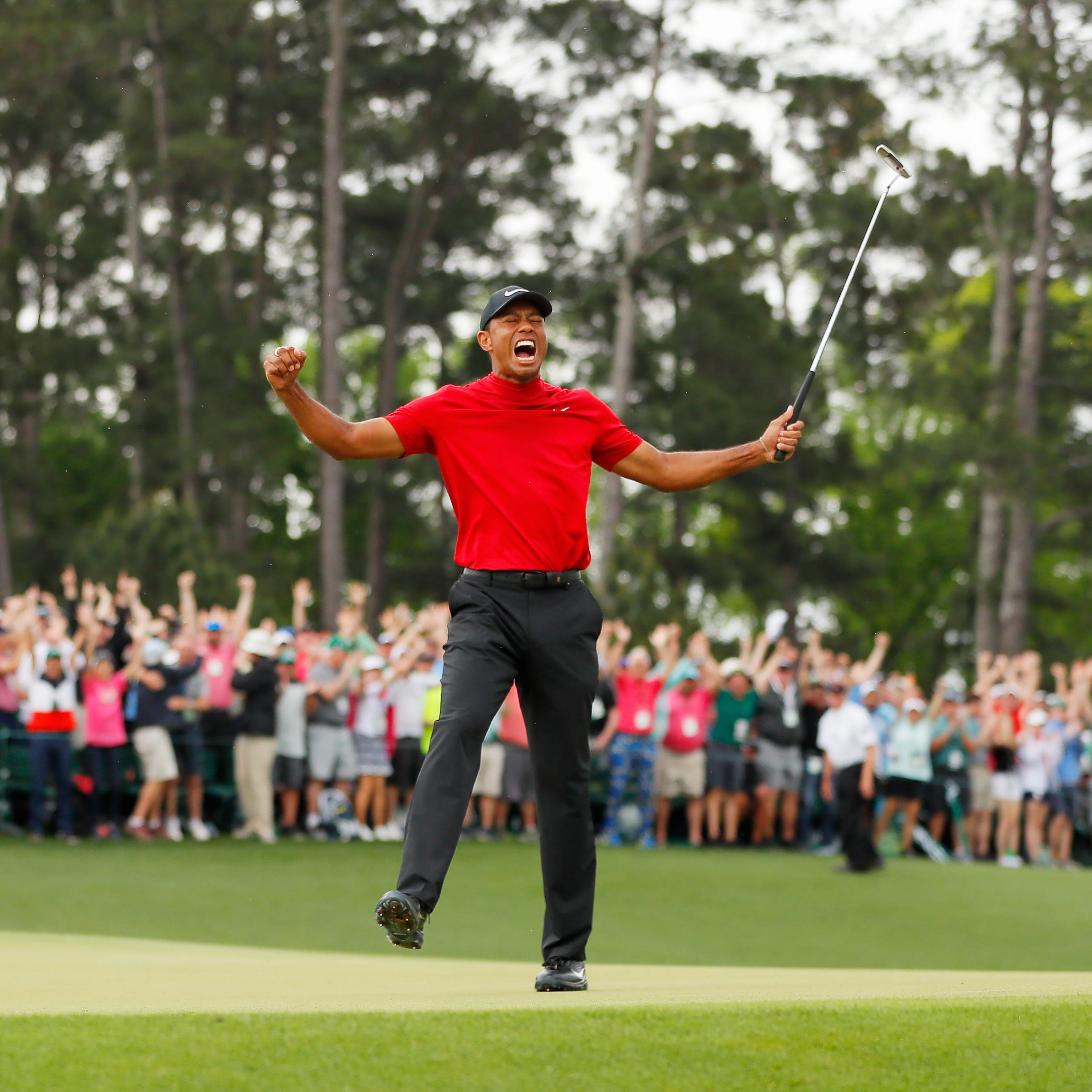 Tiger Woods' Masters win as epic as Jack Nicklaus' in 1986, maybe better