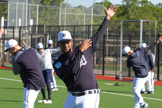 Reliever Jose Cisnero, one of the Tigers' last cuts in spring training, is back in the big leagues.