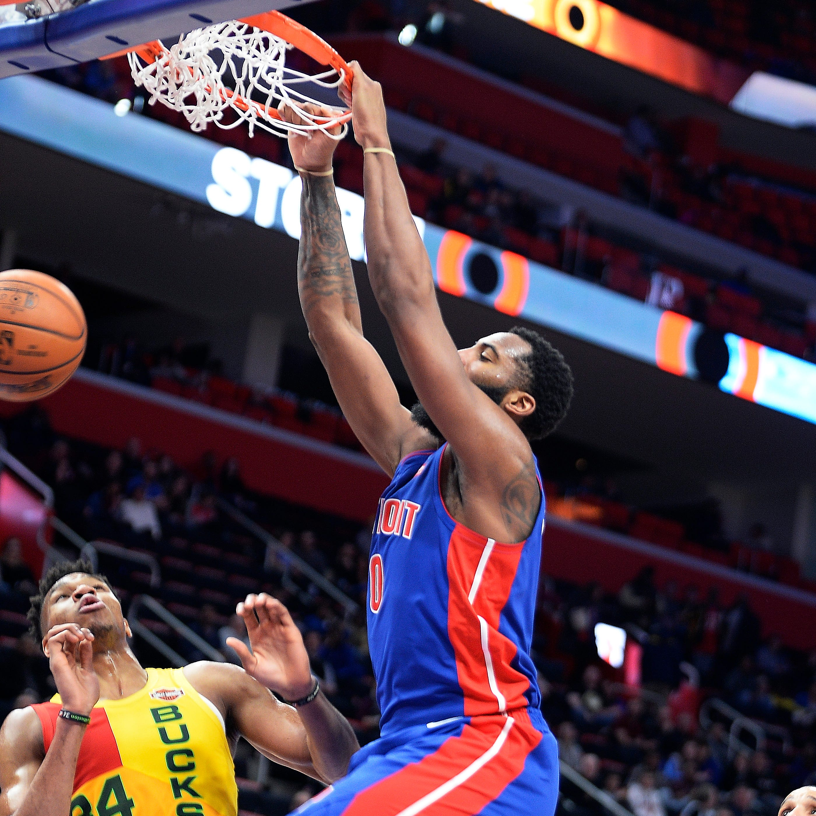 Five things to watch as Pistons open NBA playoff series vs. Bucks