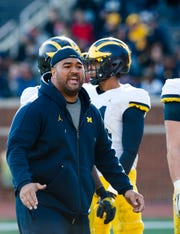 Shaun Nua is entering his first year as Michigan's defensive line coach.