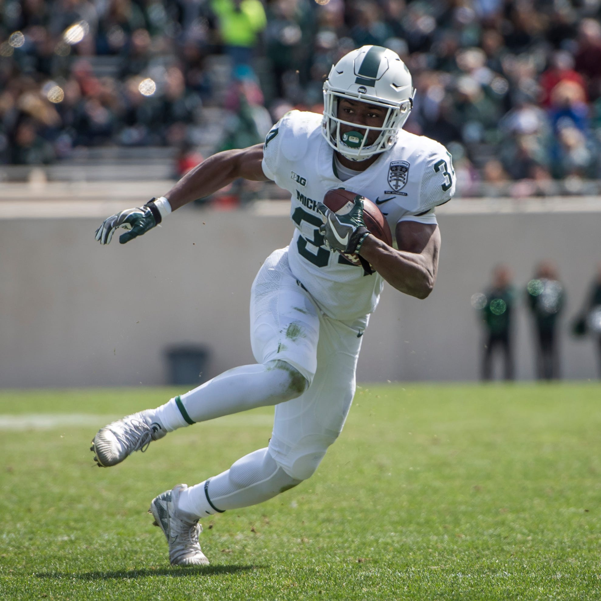 Five players who stood out in Michigan State's spring game