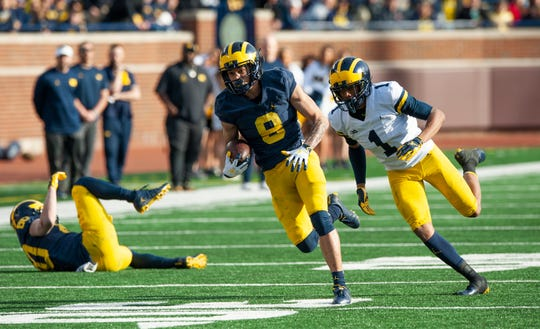 """Receiver Ronnie Bell says he could be a """"dynamic weapon"""" in the Michigan offense."""