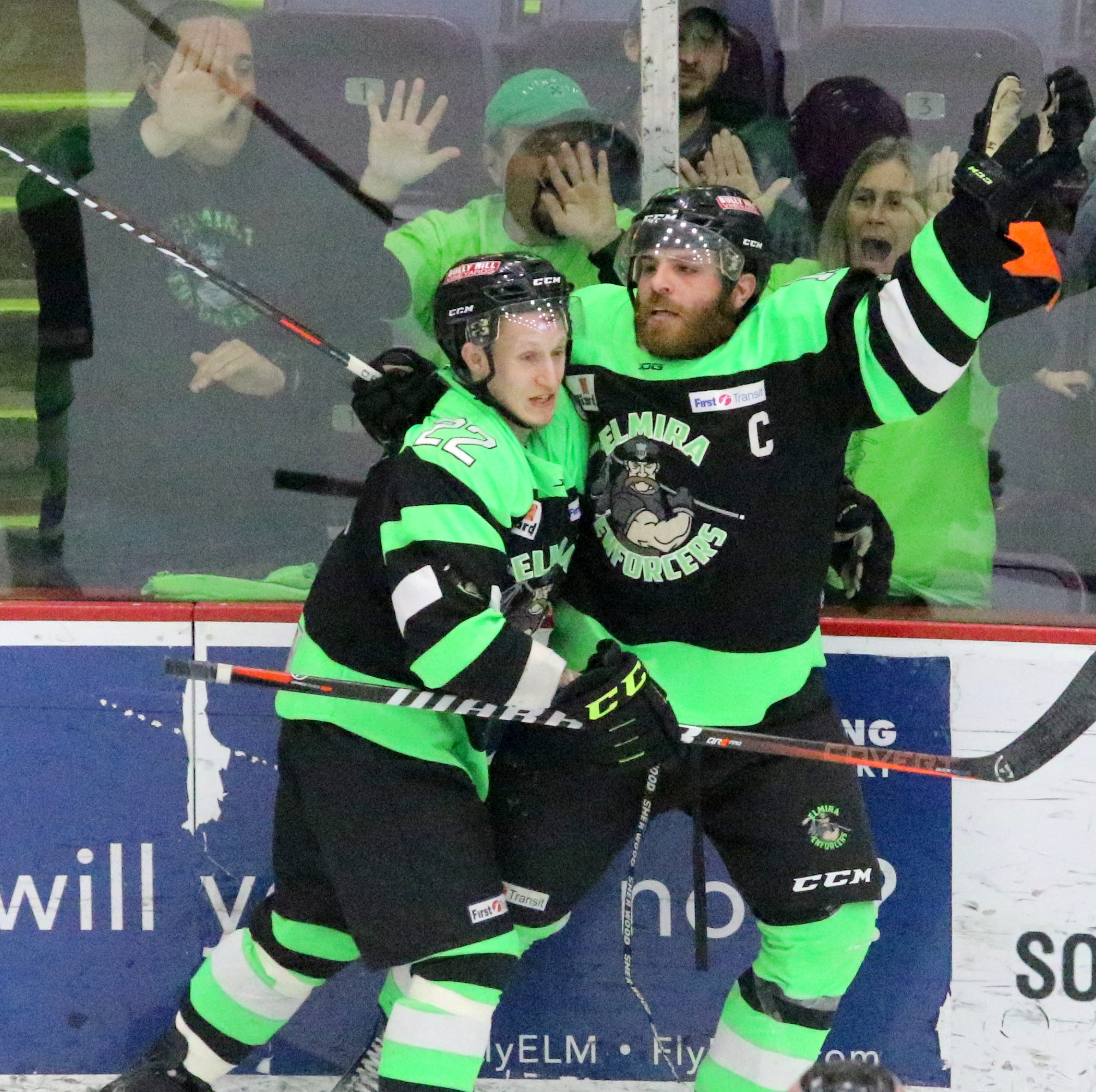 Elmira Enforcers secure spot in Federal Hockey League championship series