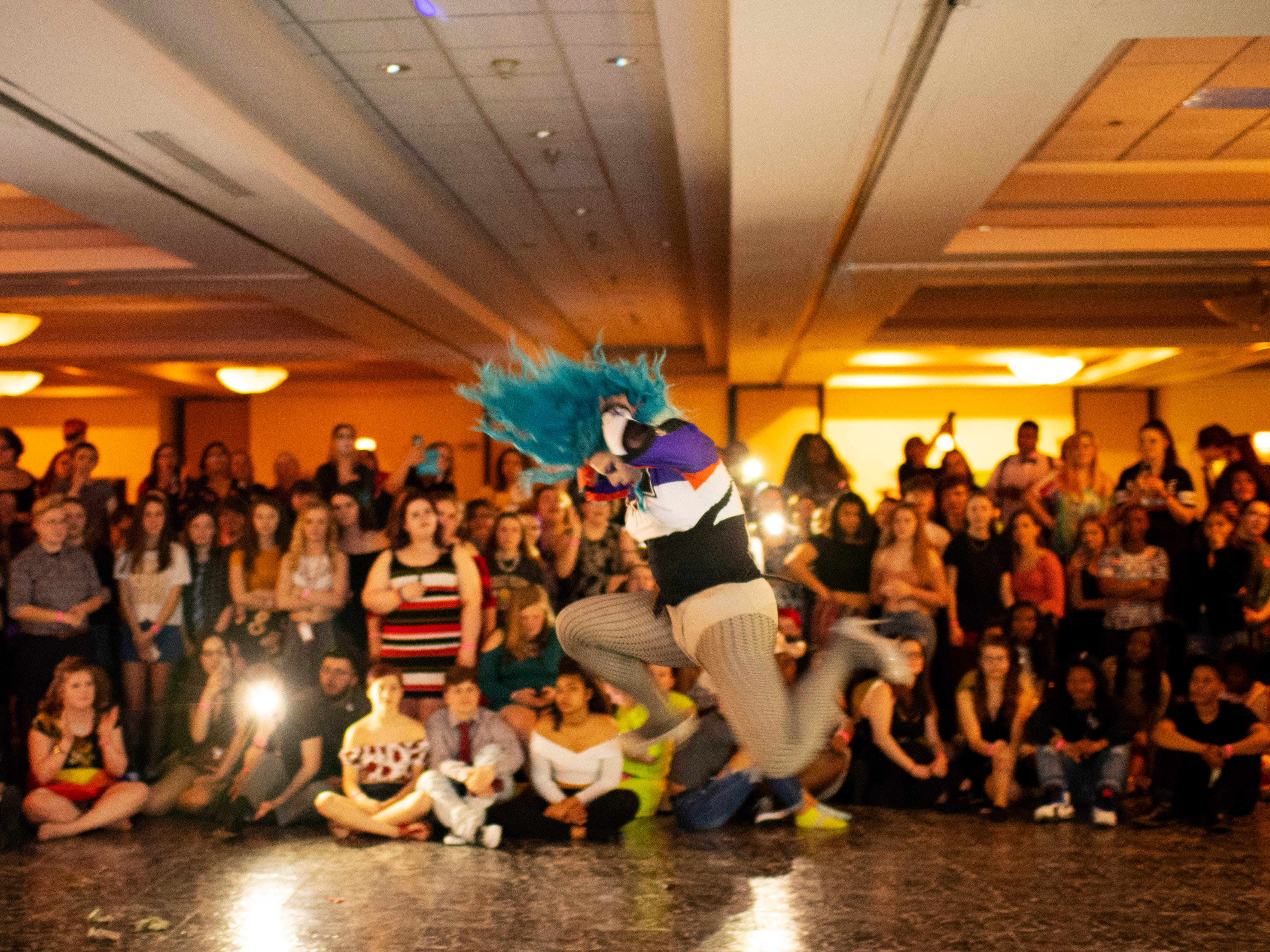 Amity Delite performs at the Tri-State Alliance Pride Prom at the Holiday Inn Saturday night.