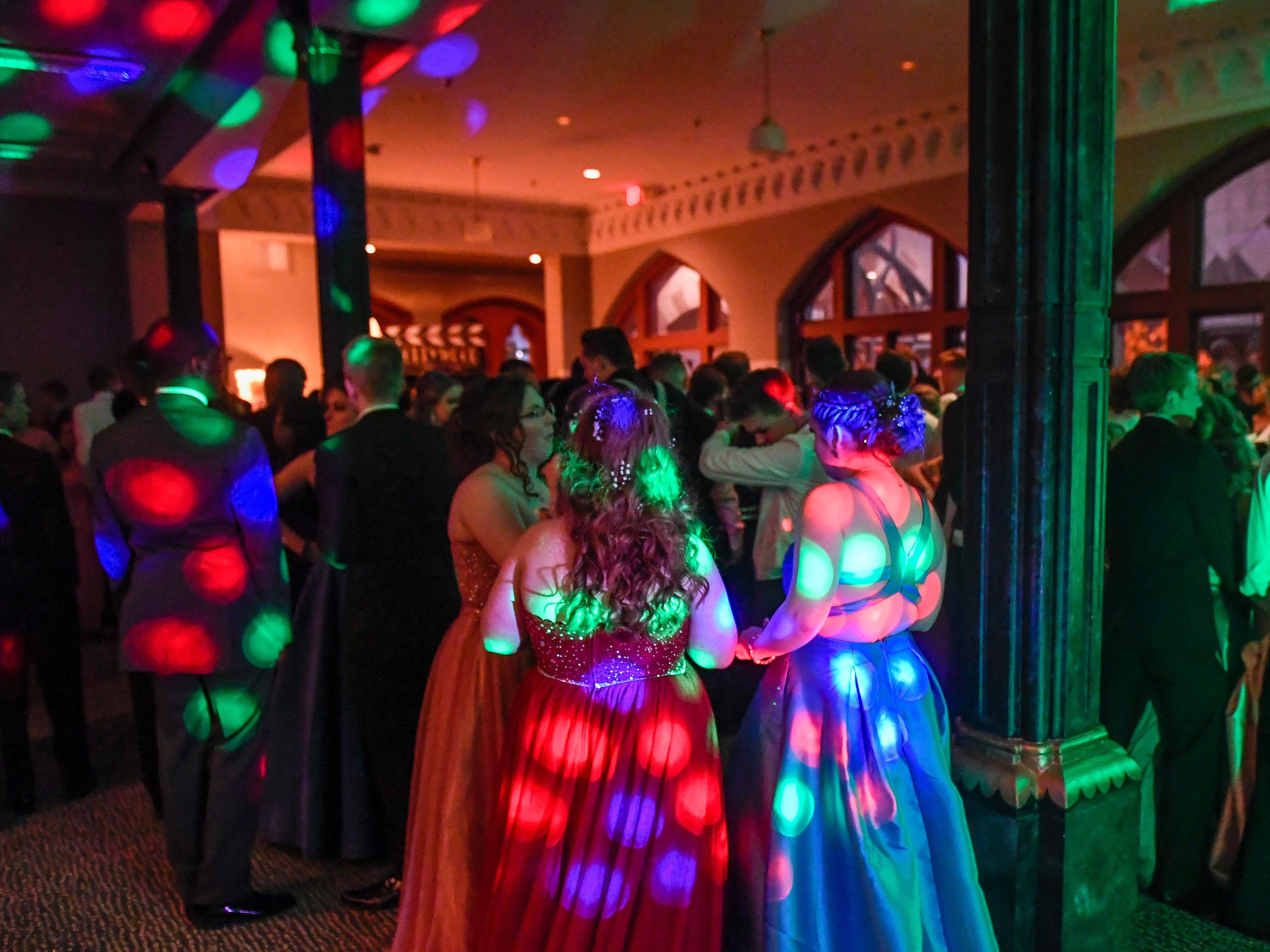 The North High School Prom held at the Old Post Office in downtown Evansville Saturday, April 13, 2019.