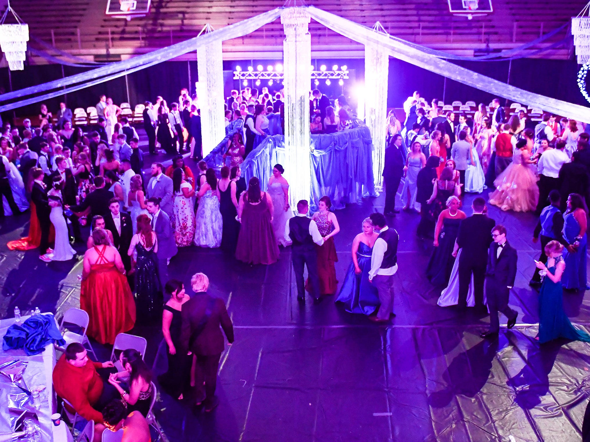The Henderson County High Prom held at Colonel Gym Saturday, April 13, 2019.