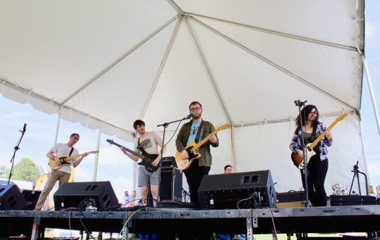 Camp Green Lake was excited to perform in Tallahassee's Word of South festival.