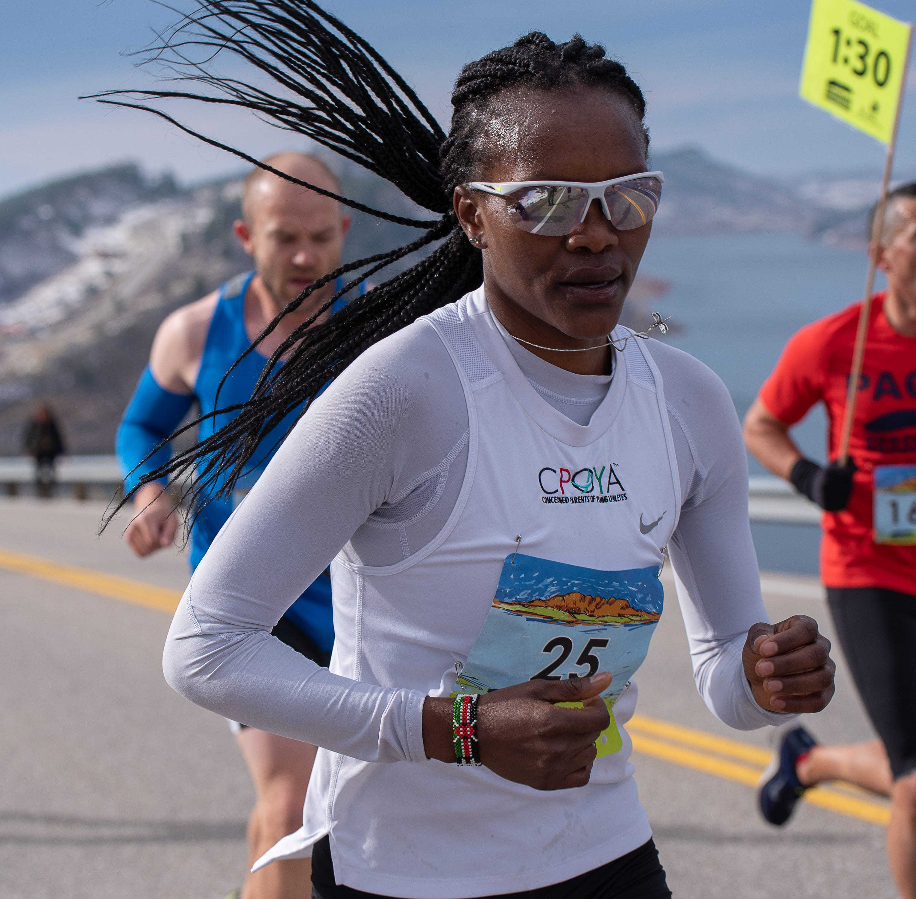 Kenyans Dominic Korir, Ivy Kibet take top prizes in 46th annual Horsetooth Half Marathon