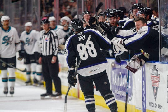 A win over San Jose on Saturday boosted the Colorado Eagles into the AHL playoffs.