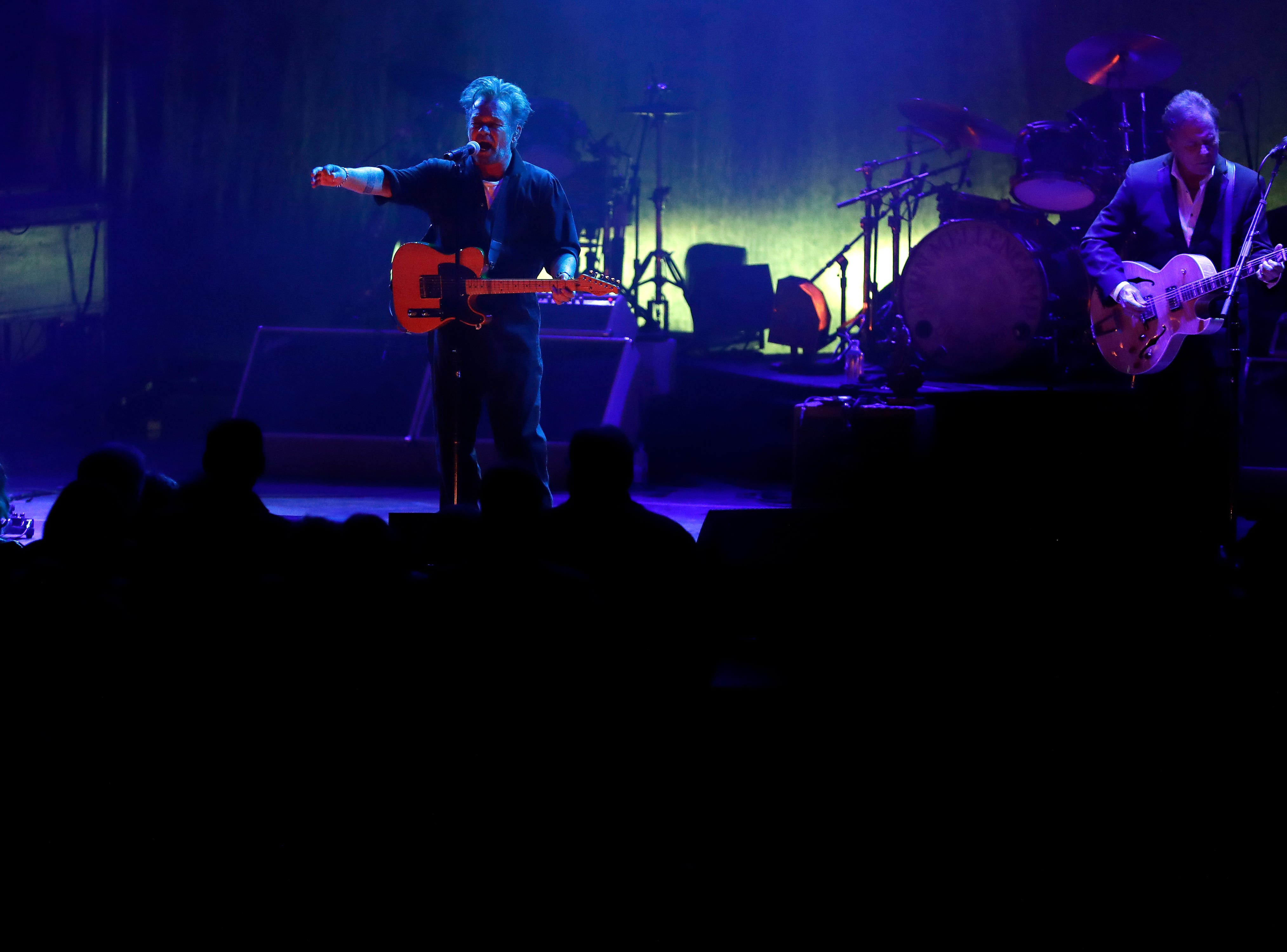 John Mellencamp performs April 13, 2019 at the Weidner Center on the University of Wisconsin-Green Bay campus.