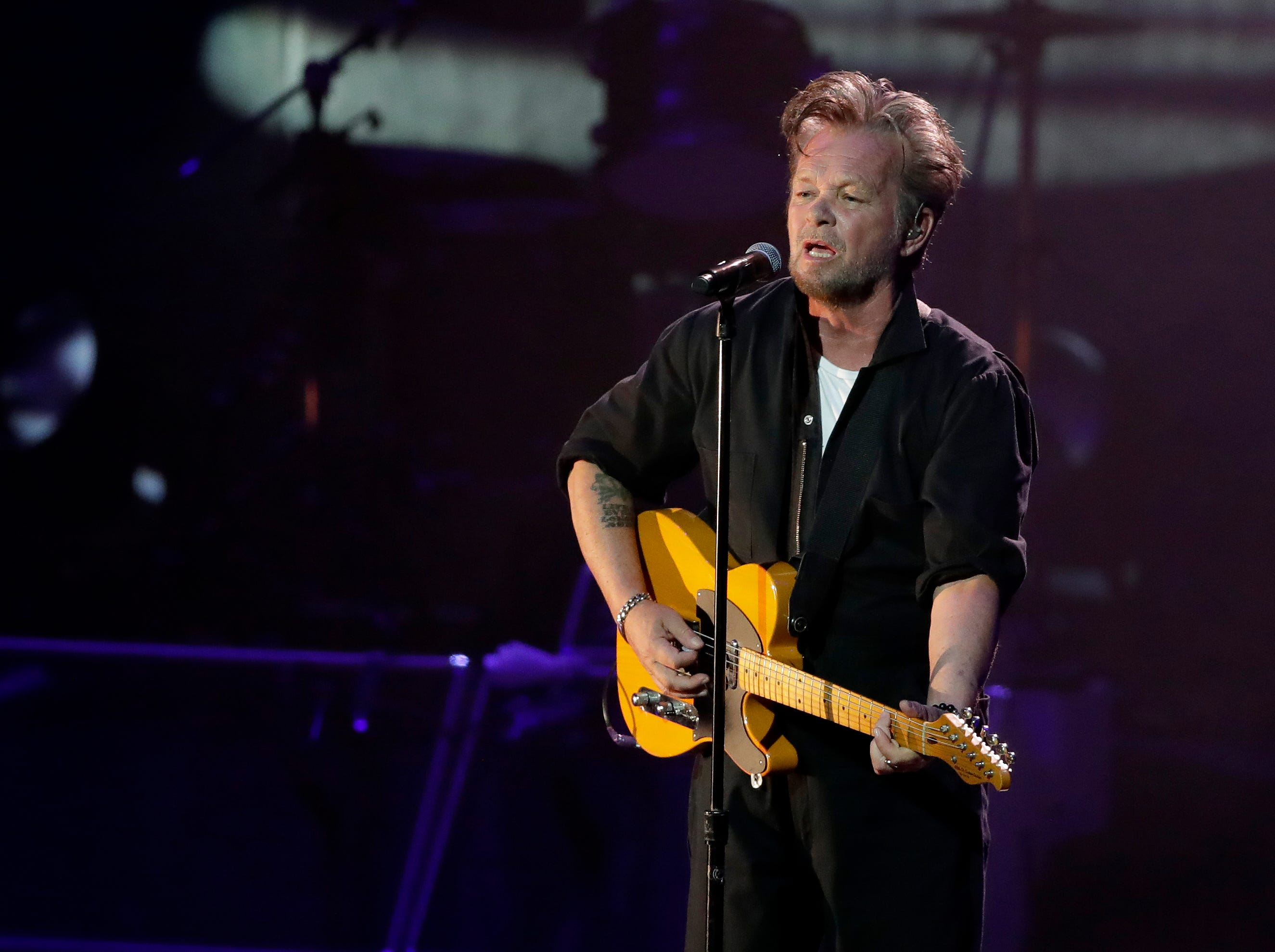 """John Mellencamp had a sellout crowd at the Weidner Center singing along to classic hits """"Jack & Diane,"""" """"Pink Houses"""" and """"Small Town"""" on Saturday night."""