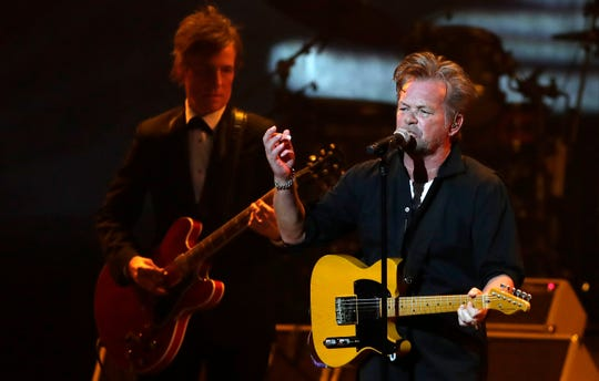 John Mellencamp performs to a sold-out crowd Saturday night at the Weidner Center.