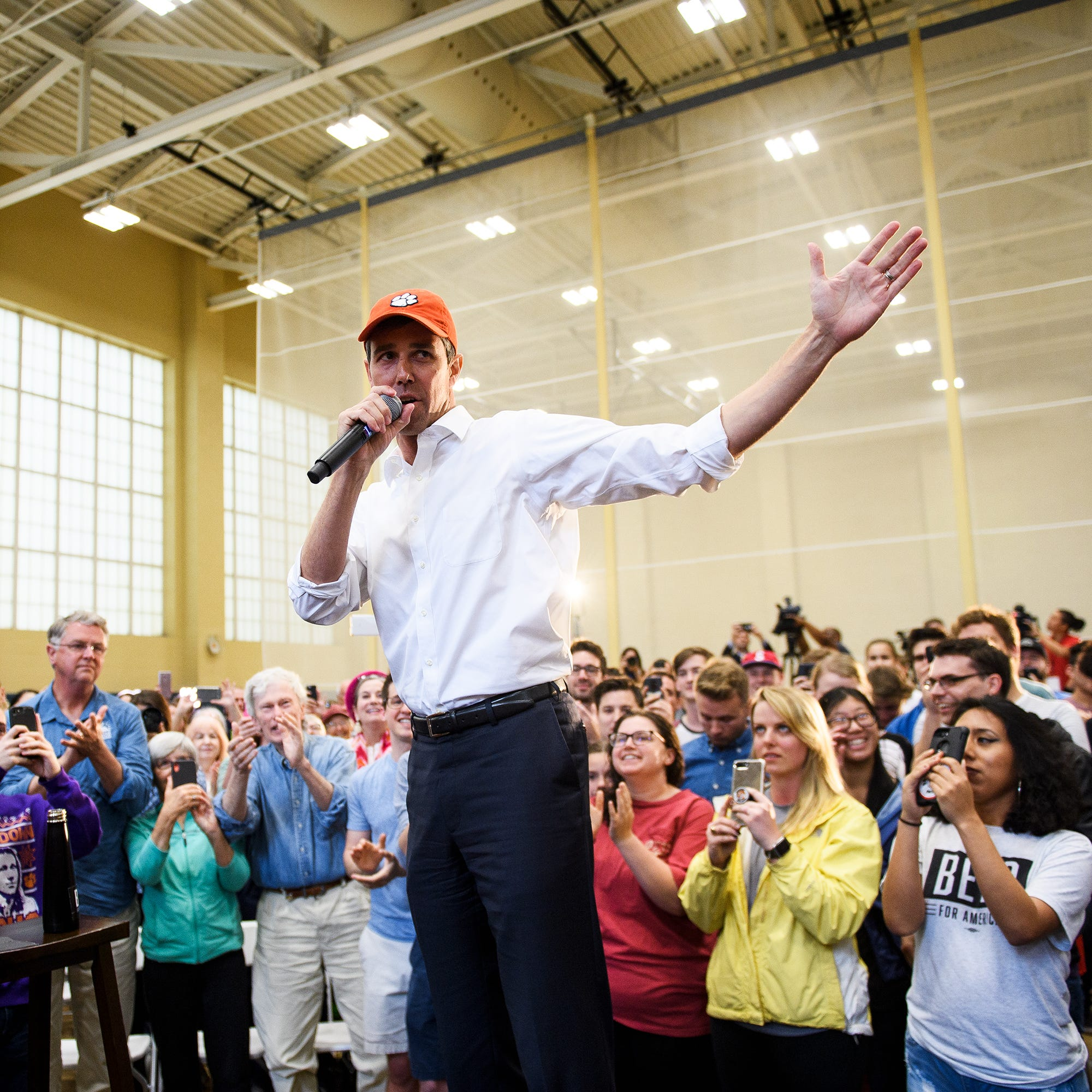 Beto O'Rourke at Clemson rally: 'Truth' must be told about Ben Tillman's racist views