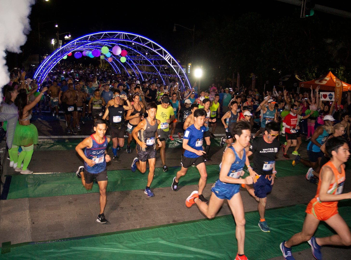 More than 4,000 people turned out for the United Guam Marathon on April 14.
