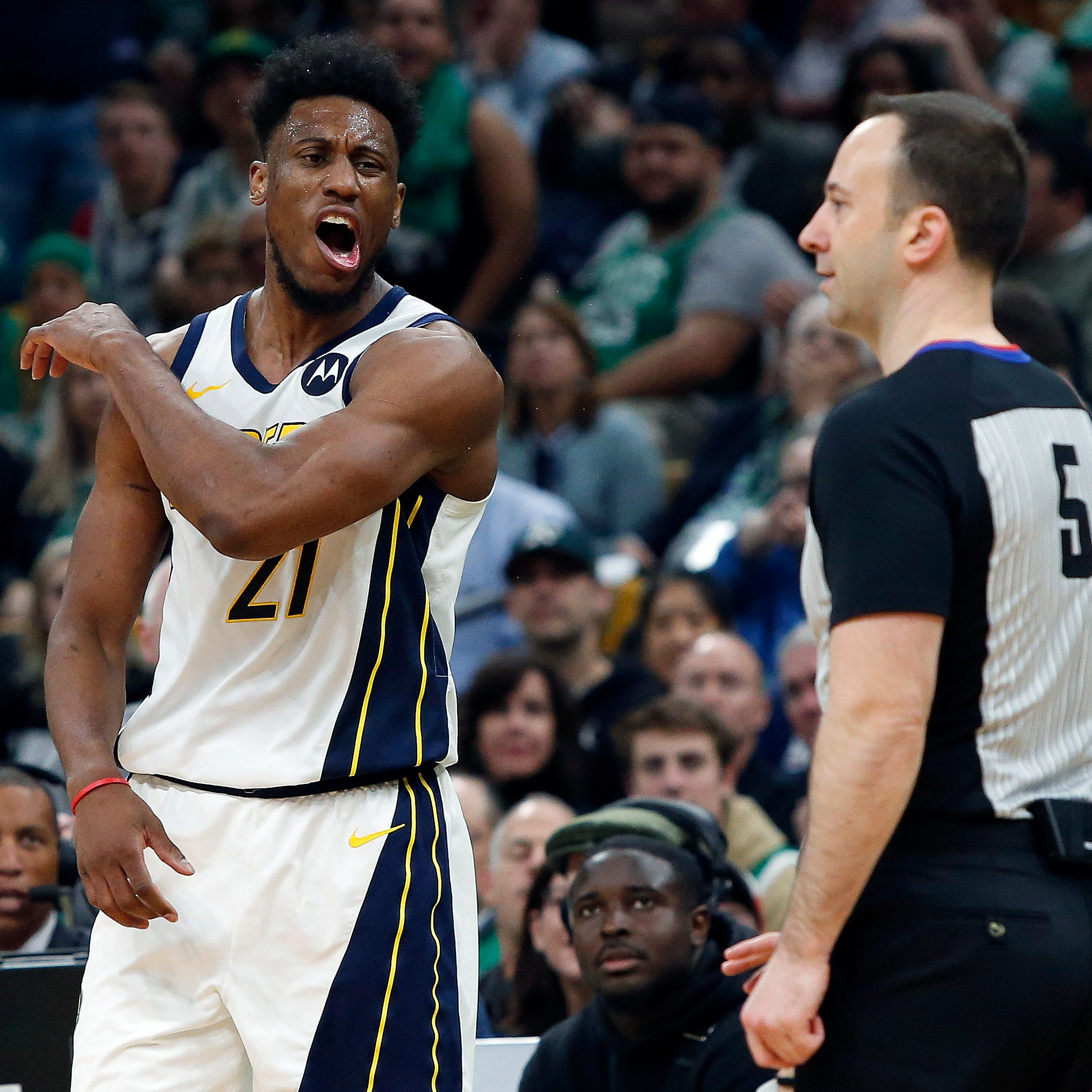 Pacers can't score against Celtics in second half of Game 1 loss