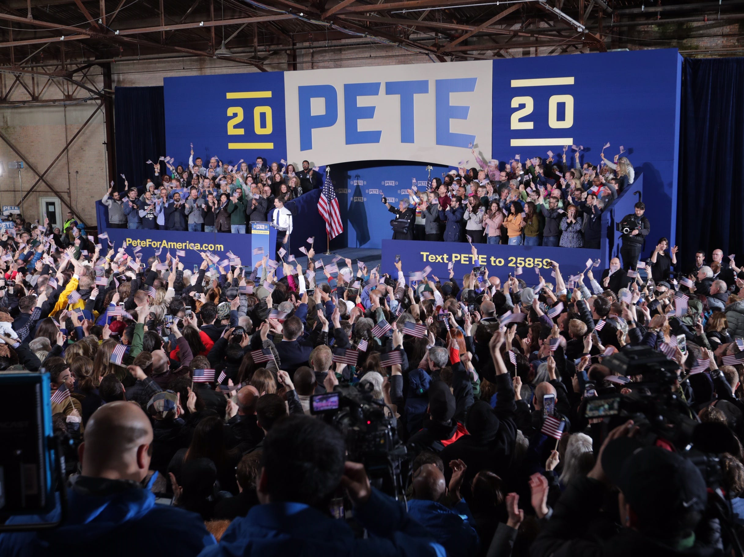 South Bend Mayor Pete Buttigieg, a Democrat, is running for president in 2020.