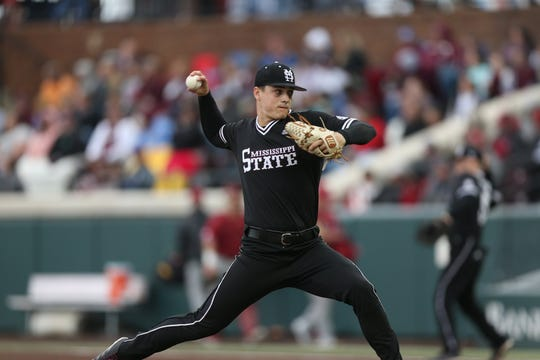 Mississippi State freshman pitcher J.T. Ginn returned to the mound and looked healthy in doing so. His usage is critical for the Bulldogs as the second half of conference season starts.