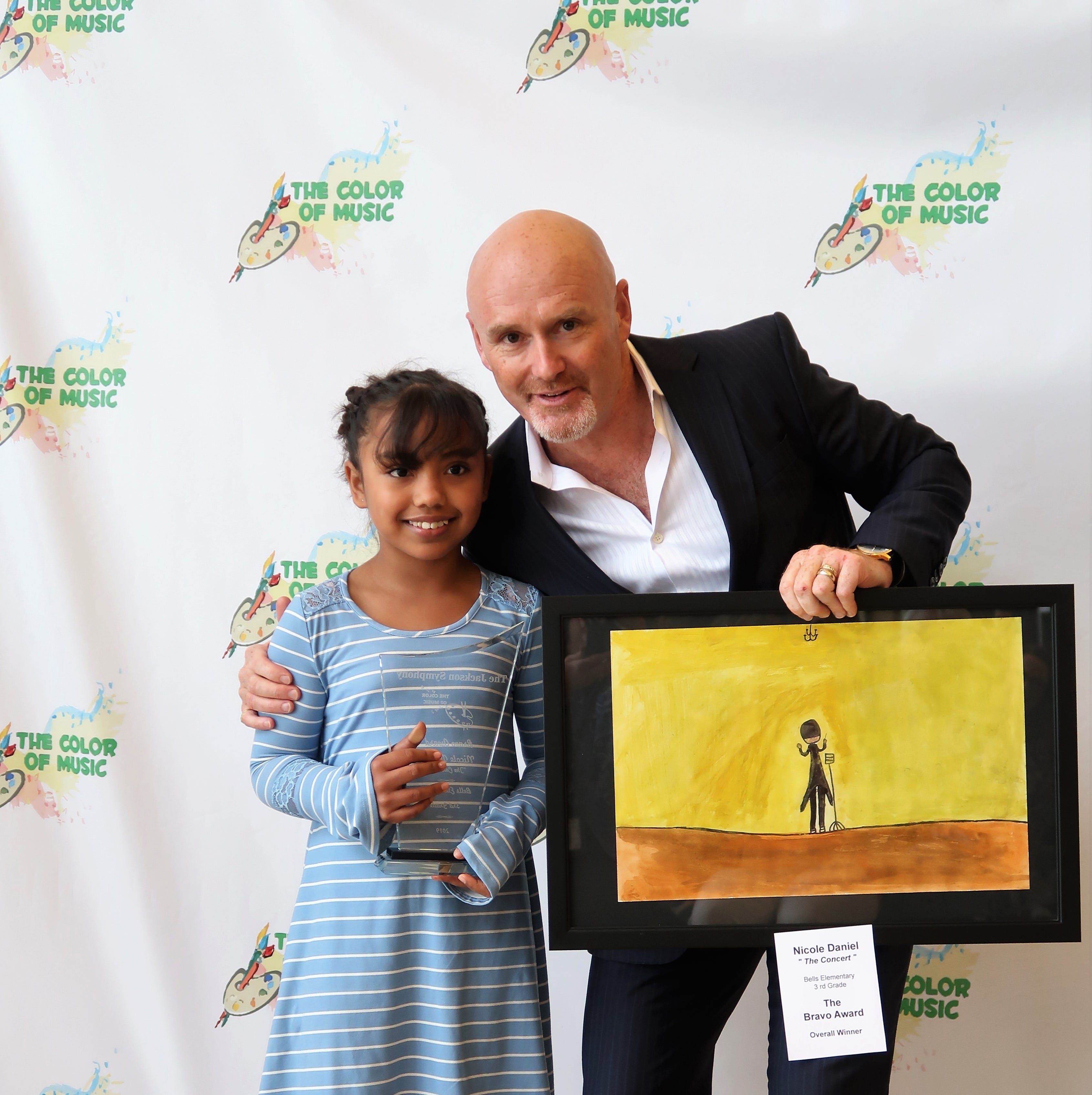 West Tennessee students honored for their artwork in 2019 Color of Music awards