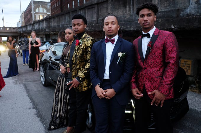 Scenes from Alcoa's High School prom at The Standard in Knoxville, Saturday, April 13, 2019.