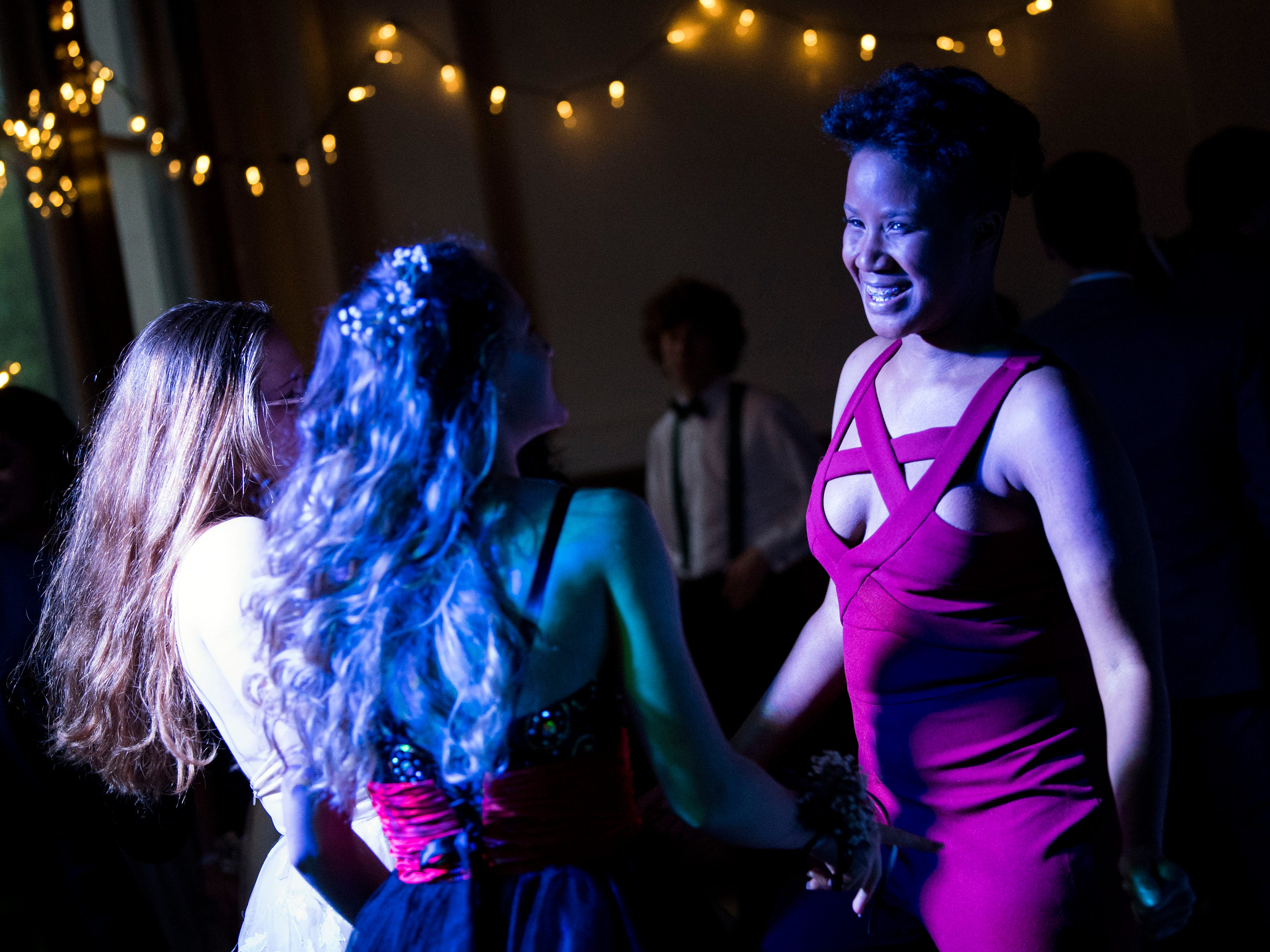 Scenes from L&N Stem Academy's prom held at Southern Railway in downtown Knoxville on Saturday, April 13, 2019.