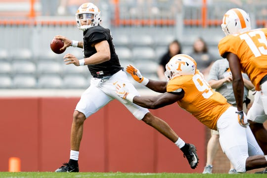 Tennessee football: Emmit Gooden a rock on uncertain Vols ...