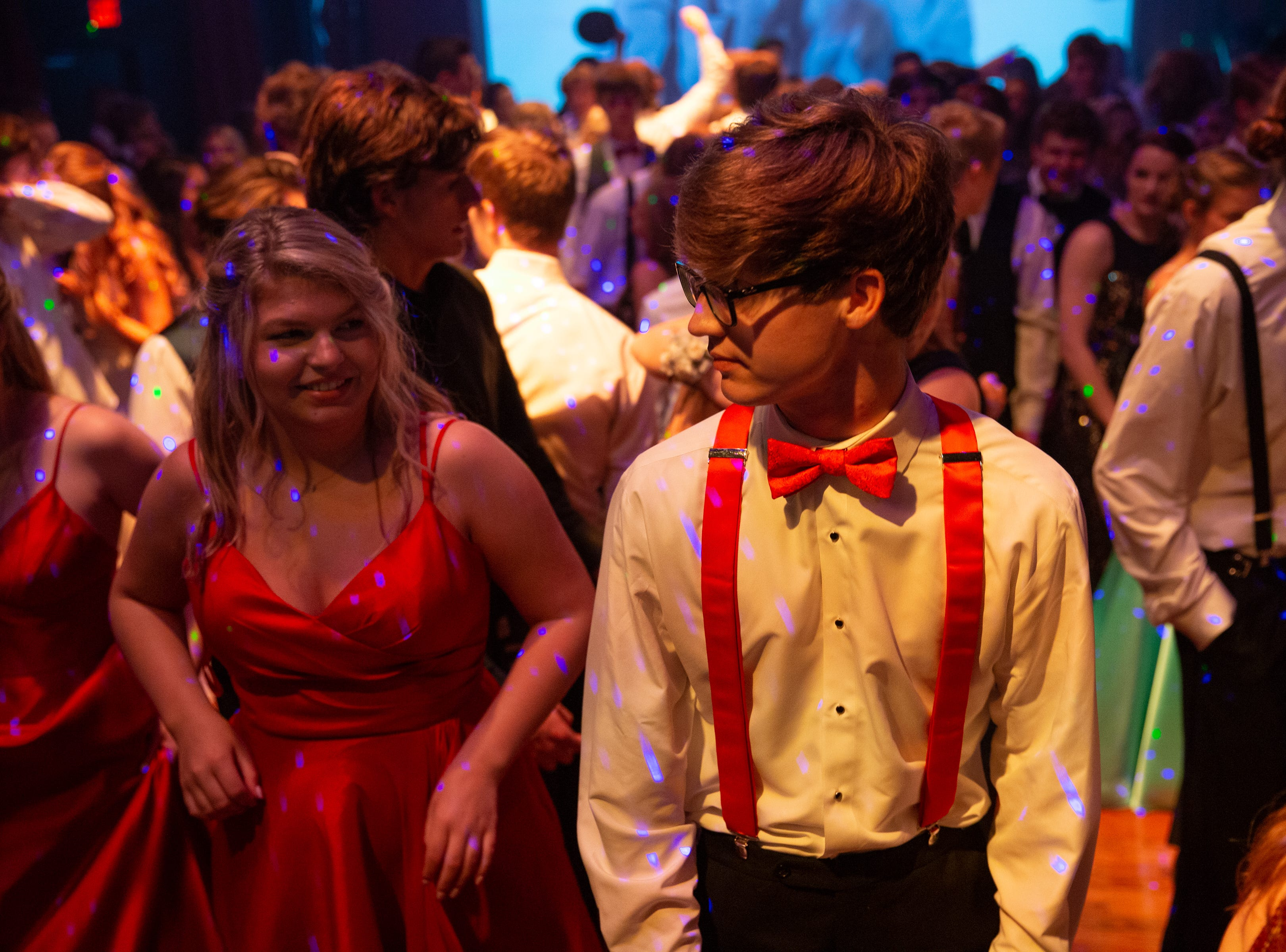 Scenes from Christian Academy of Knoxville's prom at the Capitol Theatre in Maryville Saturday, April 13, 2019.