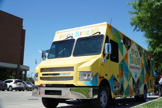 The Lafayette Parish Library plans to use its new Bookmobile, unveiled Wednesday, to provide services to parts of the parish further from its nine locations.