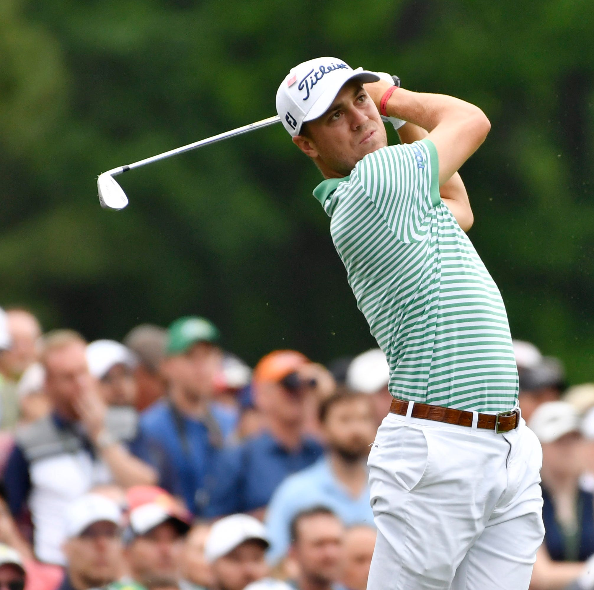 St. Xavier grad Justin Thomas makes a memorable hole-in-one at Masters