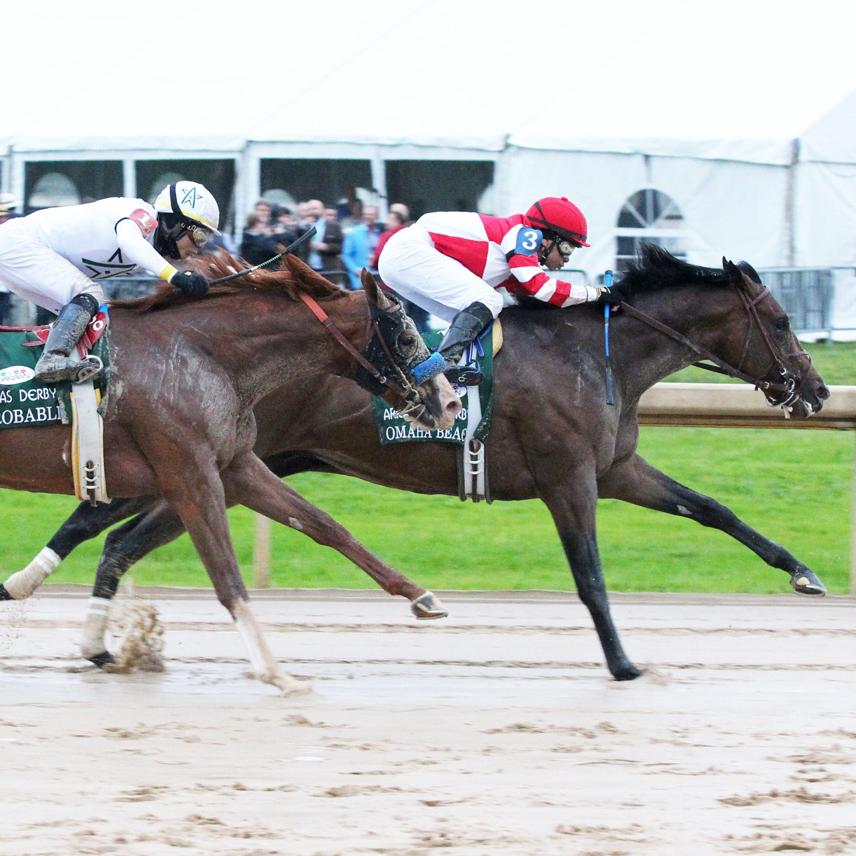Omaha Beach looks like a Kentucky Derby contender in Arkansas Derby win