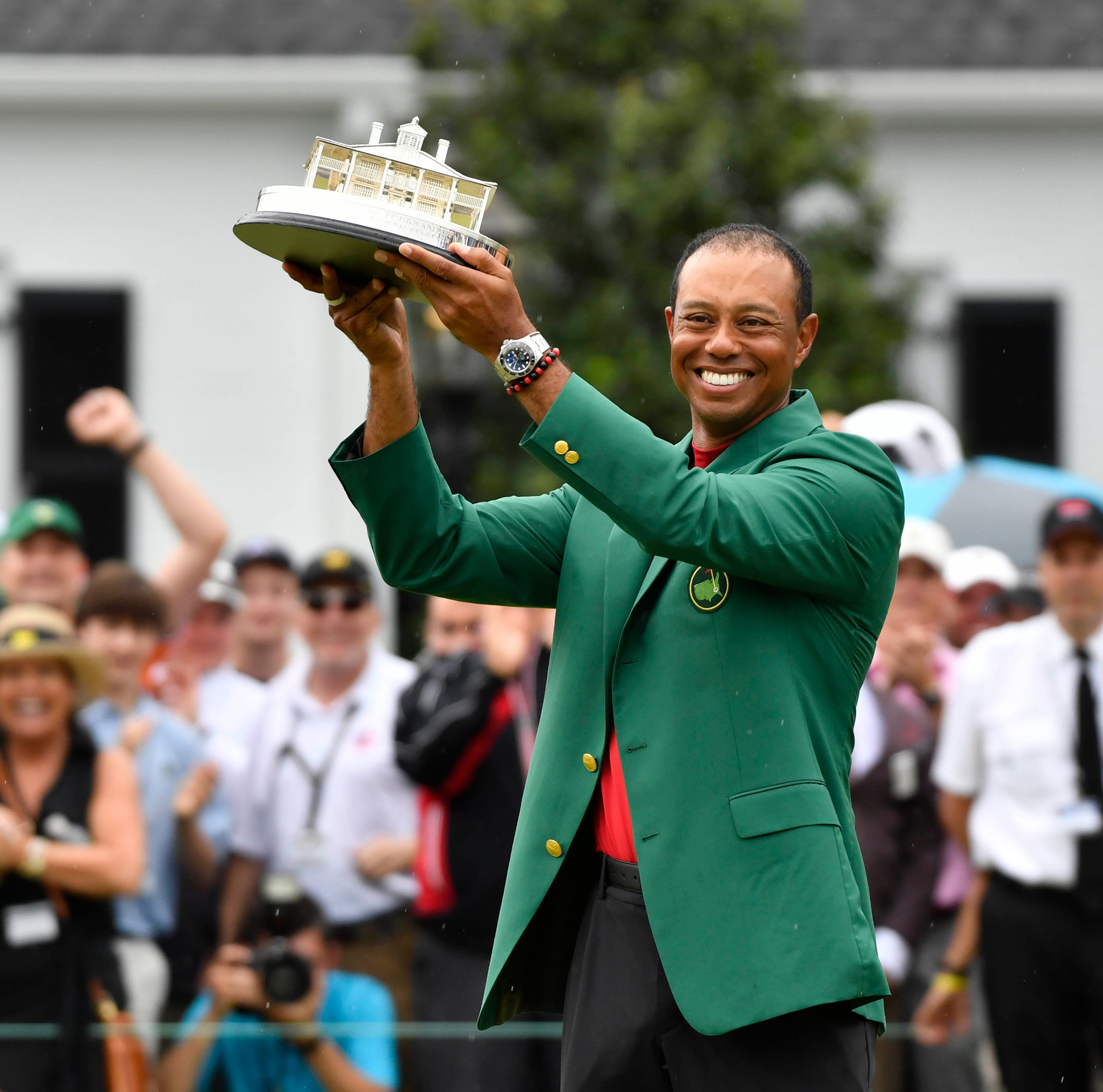 With fifth Masters win, Tiger Woods' will proves worthy of his skill