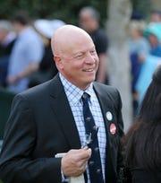 Michael J. Trombetta, trainer of Win Win Win.