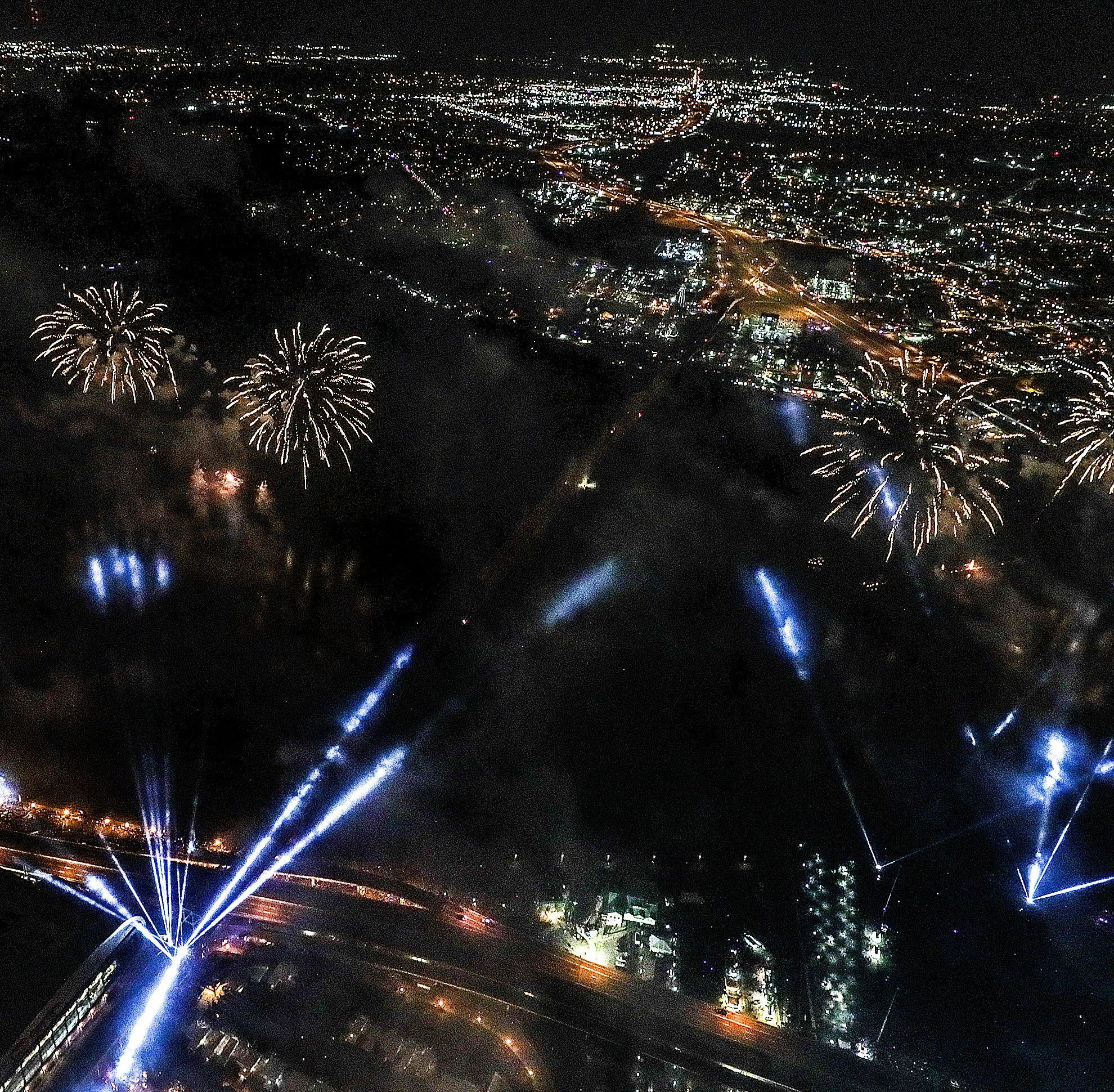 Amazed by our aerial photos of Thunder Over Louisville? Here's how we did it