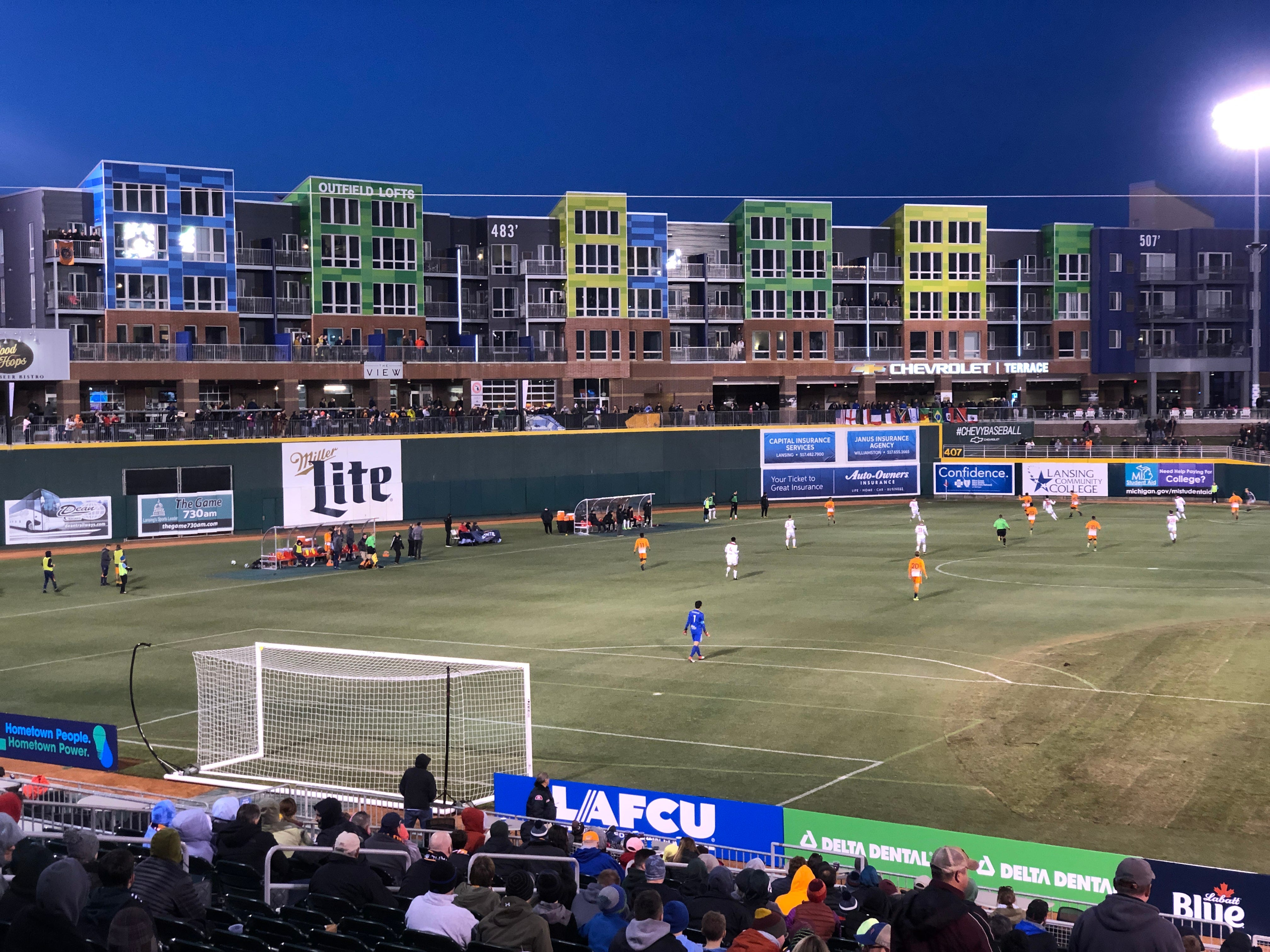 Couch: Lansing Ignite's home debut shows, for fans, soccer in a baseball stadium can work