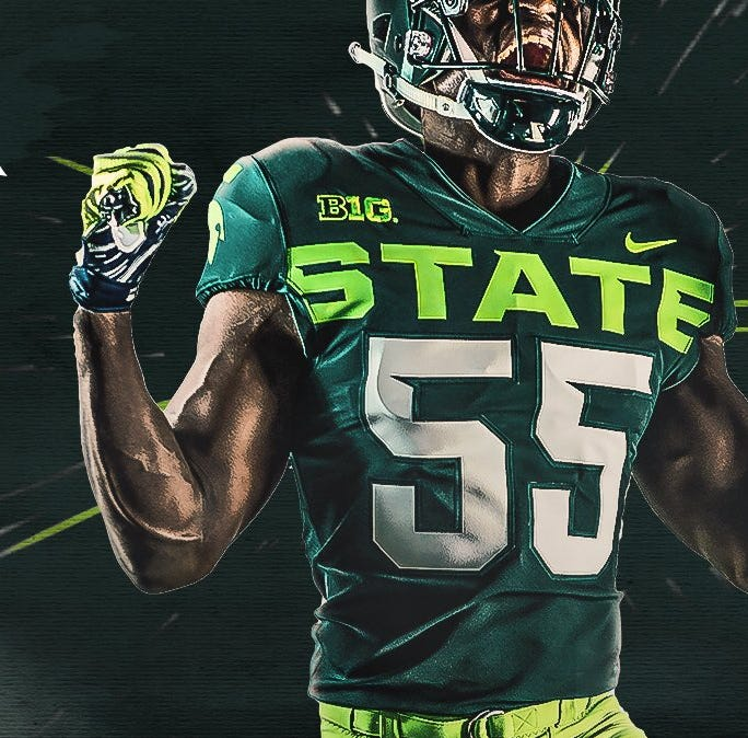 Michigan State football poll: New Nike lime-green alternate uniforms - yay or a nay?