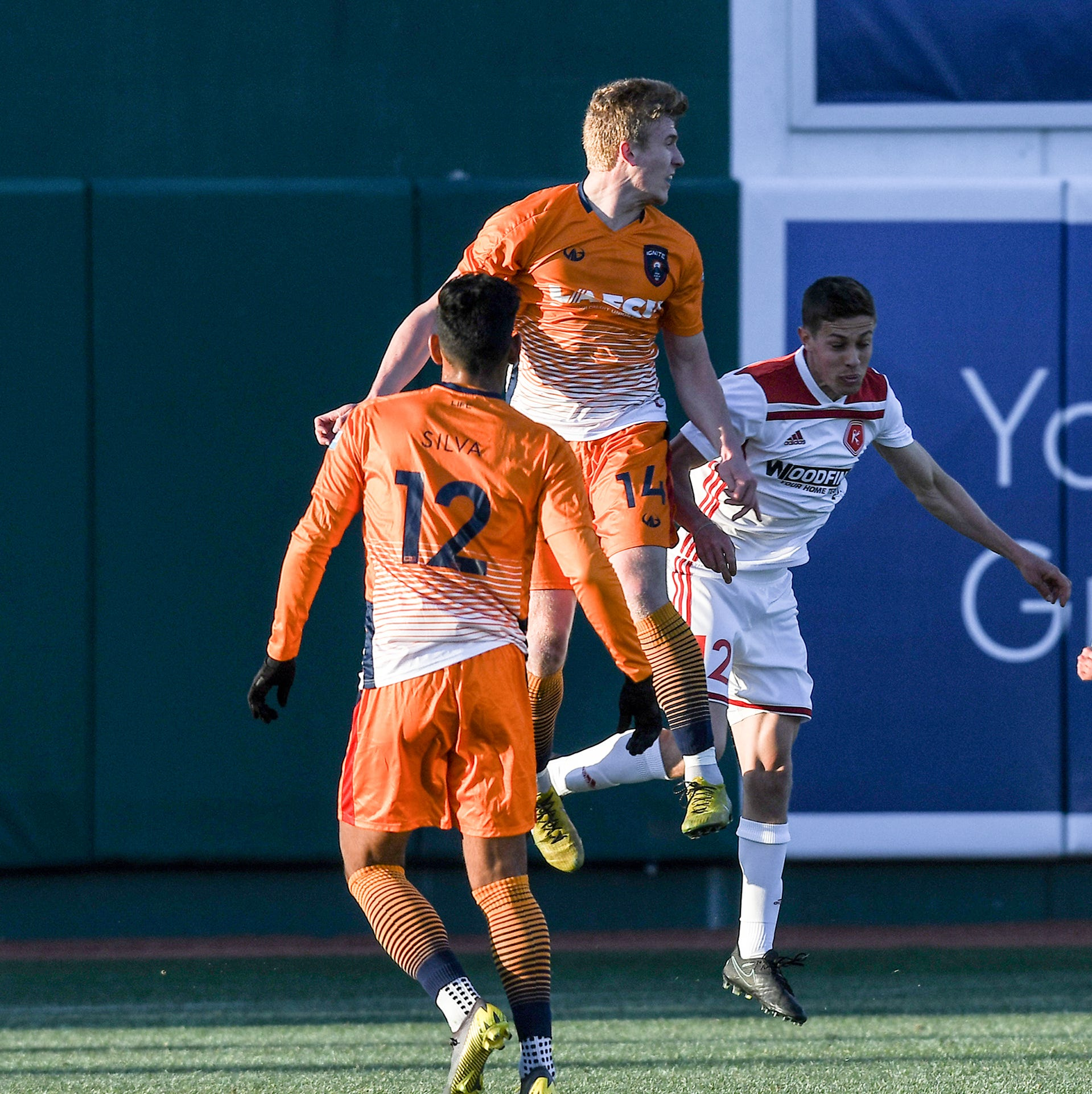 'Three beautiful goals' lead Lansing Ignite on historic night at Cooley Law School Stadium