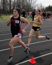 Mansfield Christian's Carolina Trumpower was runner-up in the 1600 at Saturday's 87th Mehock Relays.